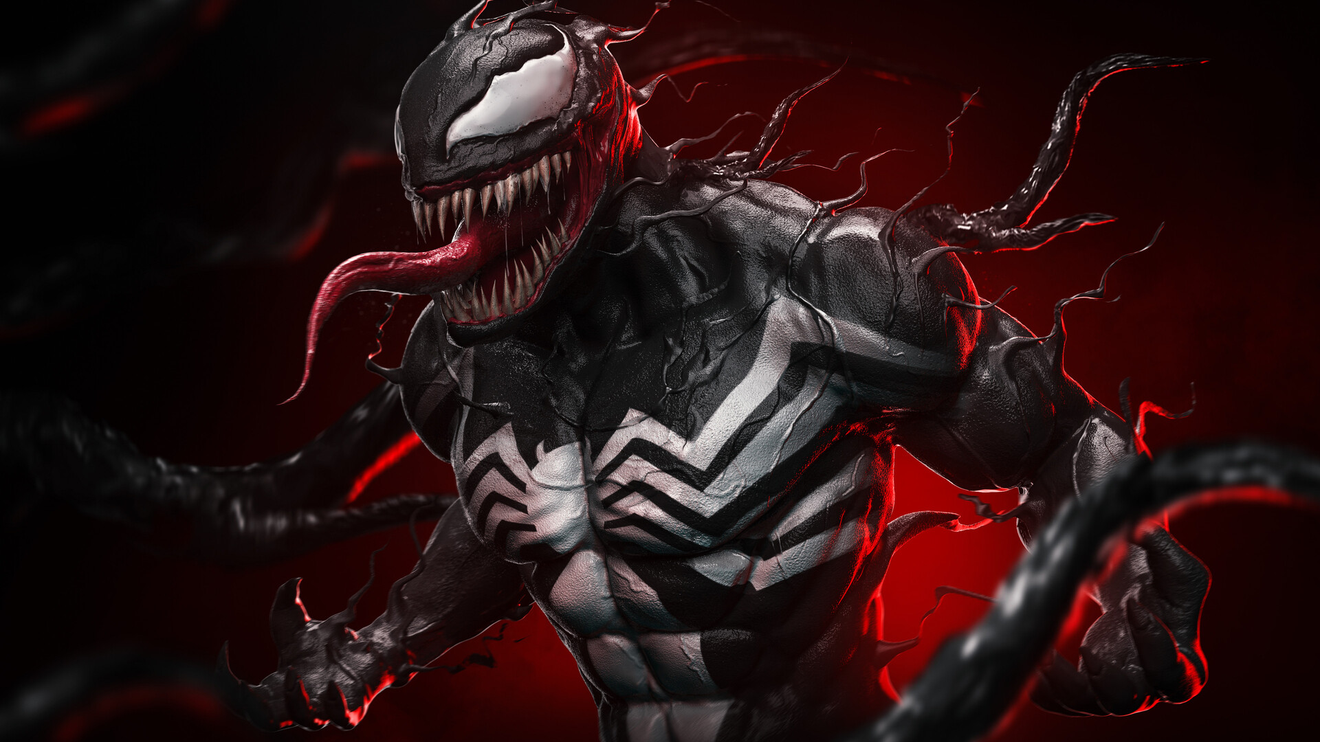 1920x1080 Venom 4k 2020 Artwork Laptop Full HD 1080P HD 4k ...