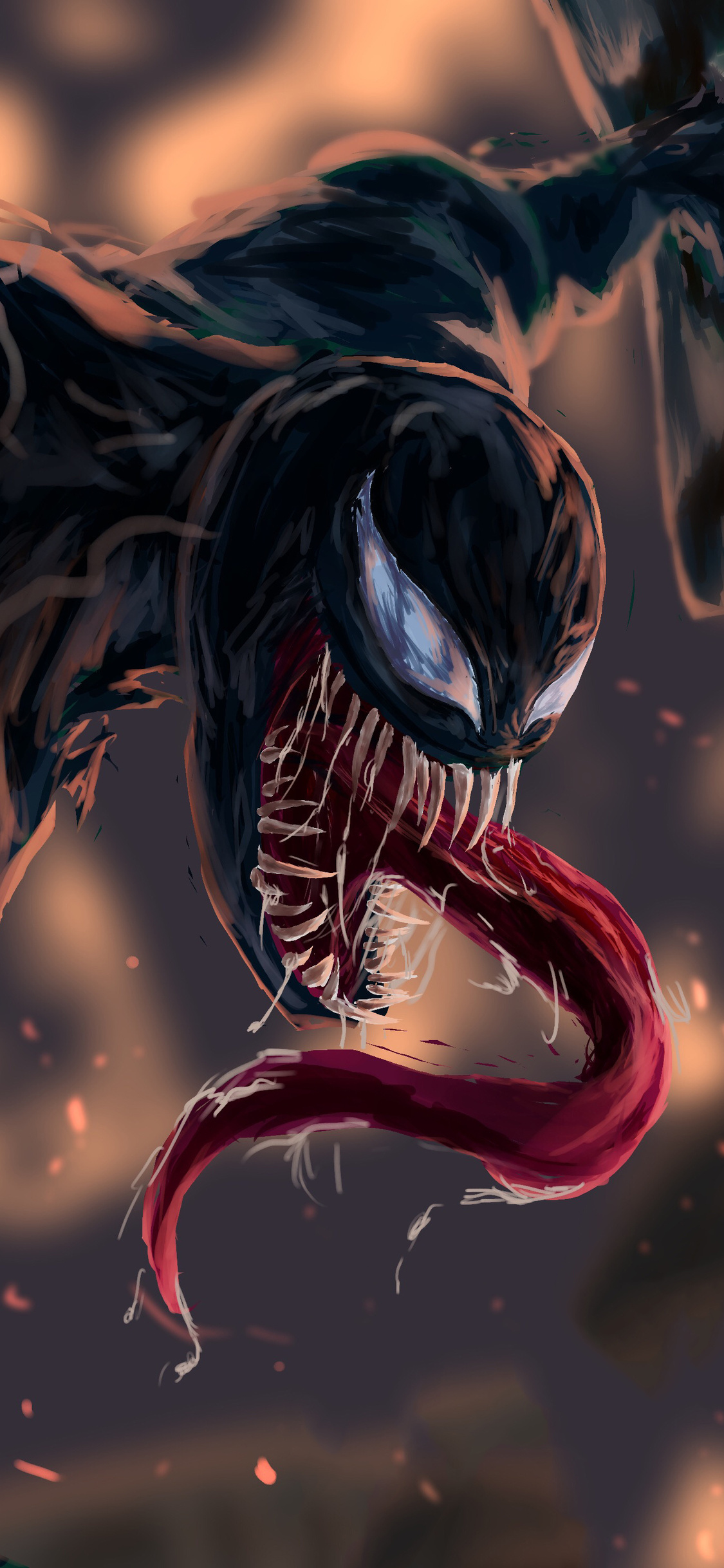 1125x2436 Venom 4k Fan Artwork Iphone Xsiphone 10iphone X Hd 4k