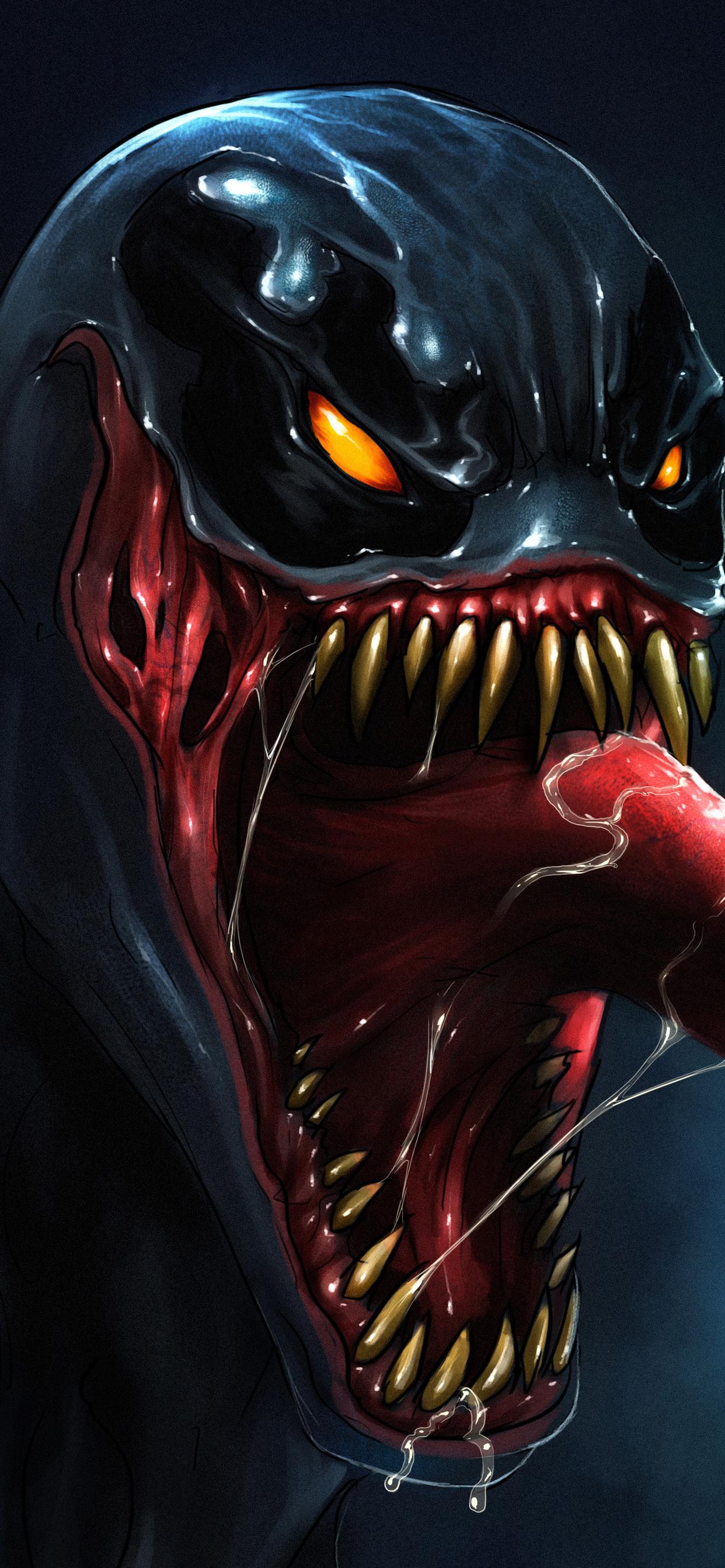 1242x2688 Venom 5k Artwork Iphone Xs Max Hd 4k Wallpapers