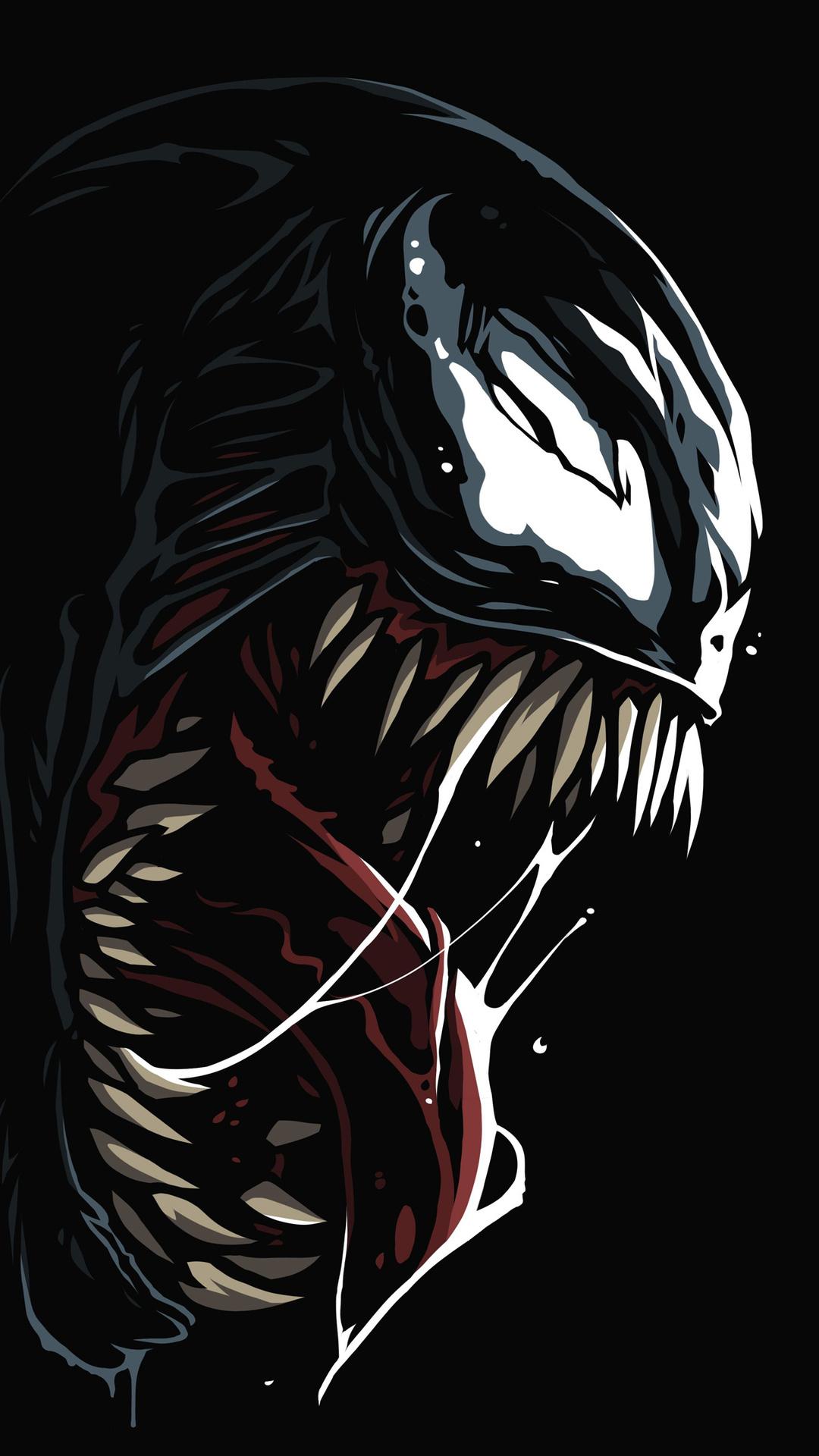 1080x1920 Venom Amoled 4k Iphone 76s6 Plus Pixel Xl One