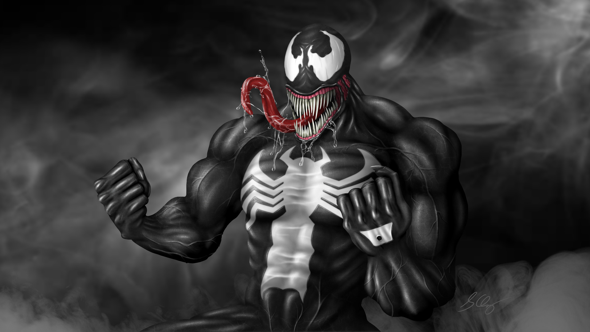 1920x1080 Venom Art Digital Laptop Full HD 1080P HD 4k ...