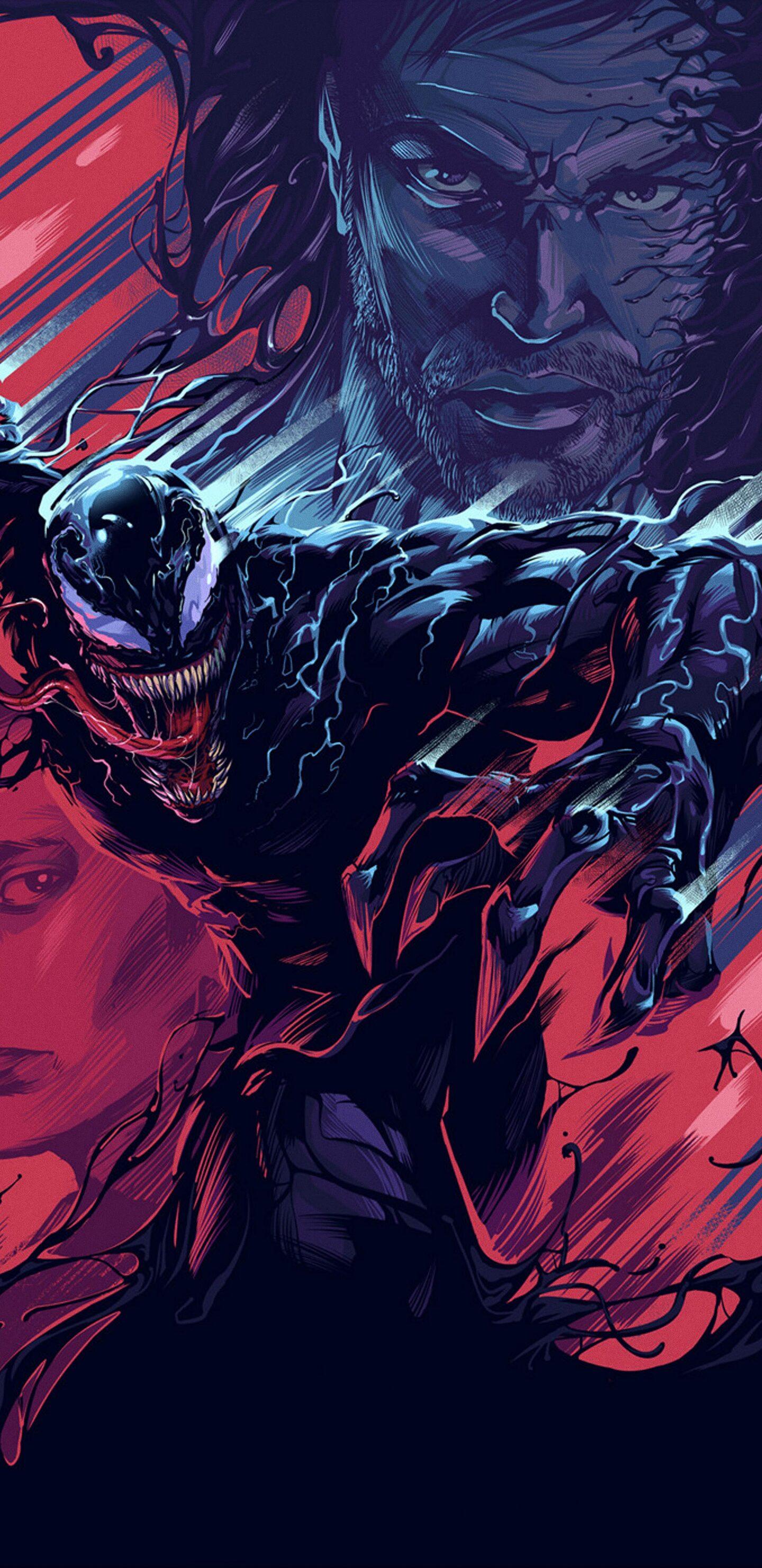 Venom Note 9 Wallpaper