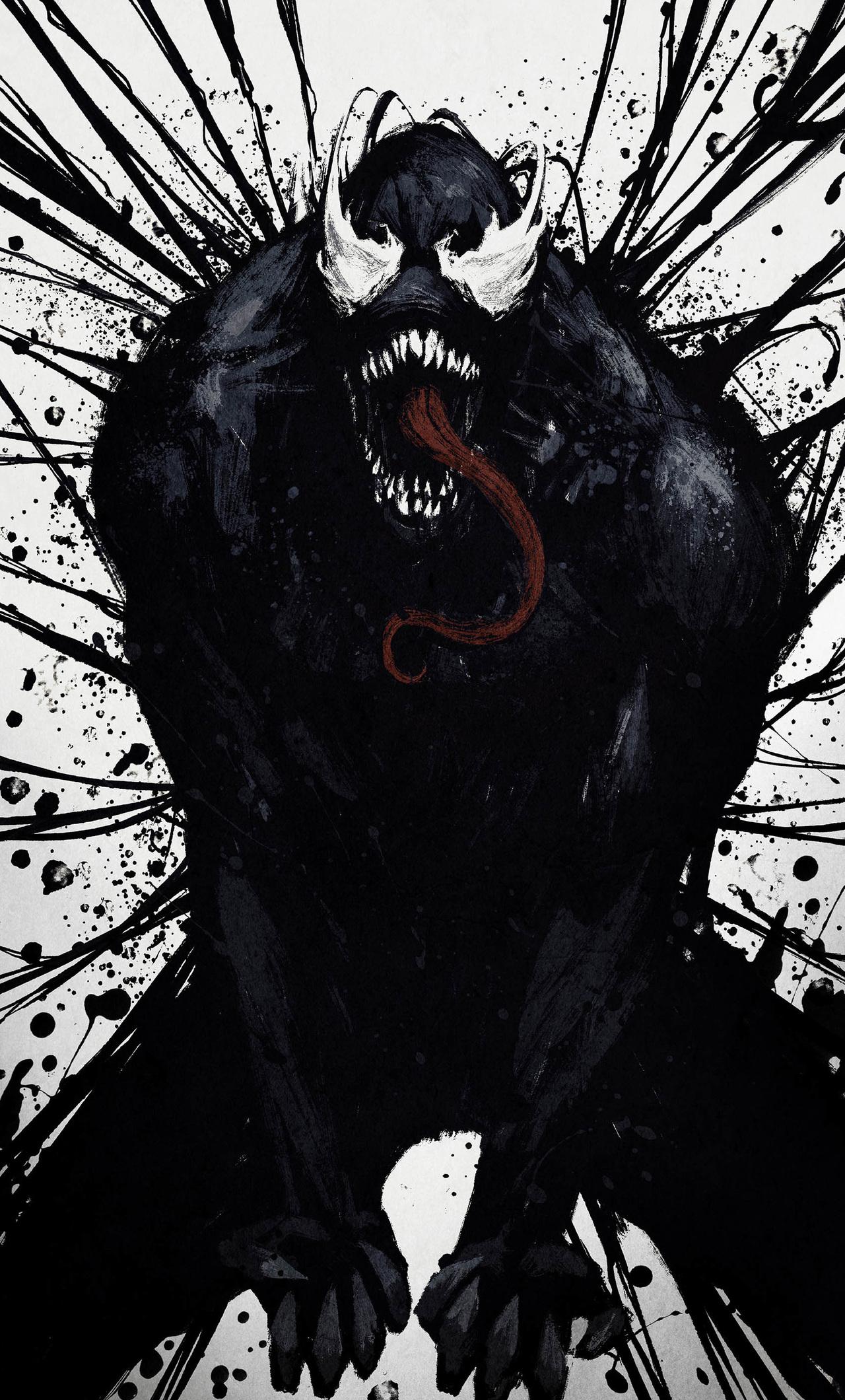1280x2120 Venom Artwork Hd Marvel iPhone 6+ HD 4k ...