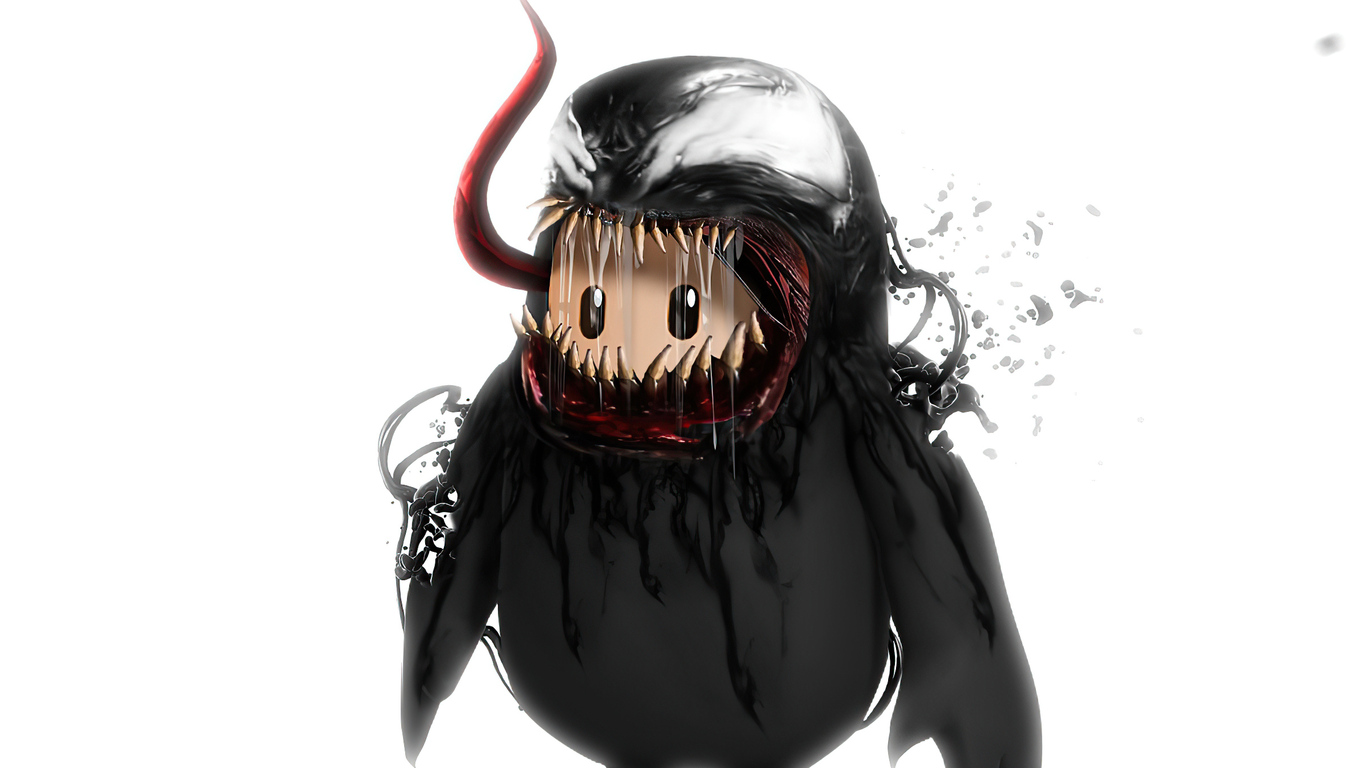 1360x768 Venom Fall Guys Laptop Hd Hd 4k Wallpapers Images Backgrounds Photos And Pictures