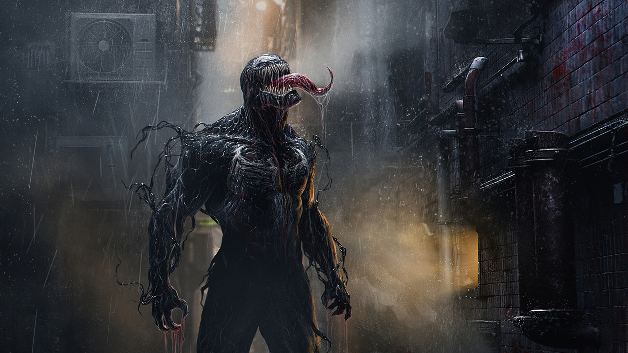 2048x1152 Venom In Rain 2048x1152 Resolution HD 4k ...