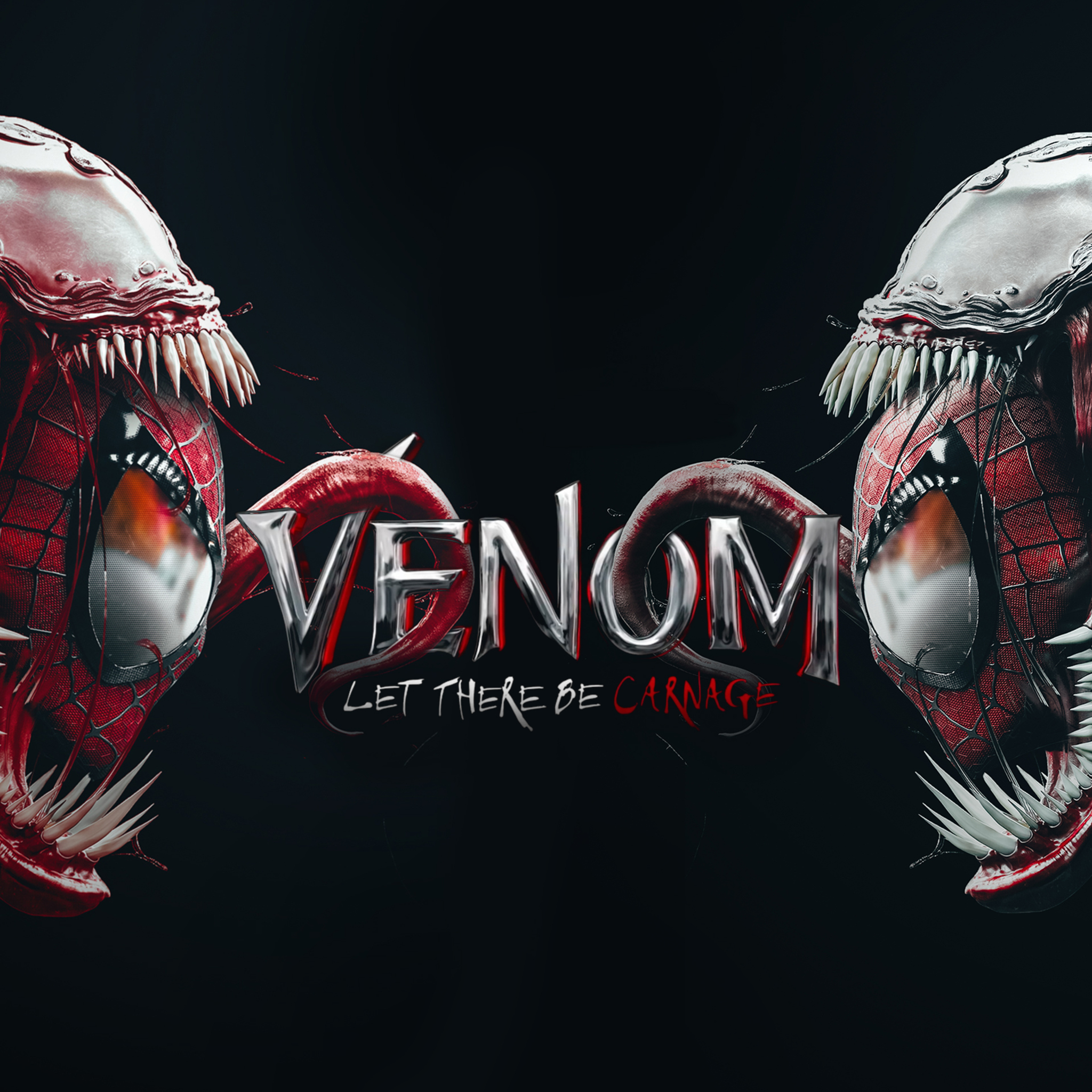 2048x2048 Venom Let There Be Carnage Movie Ipad Air HD 4k ...