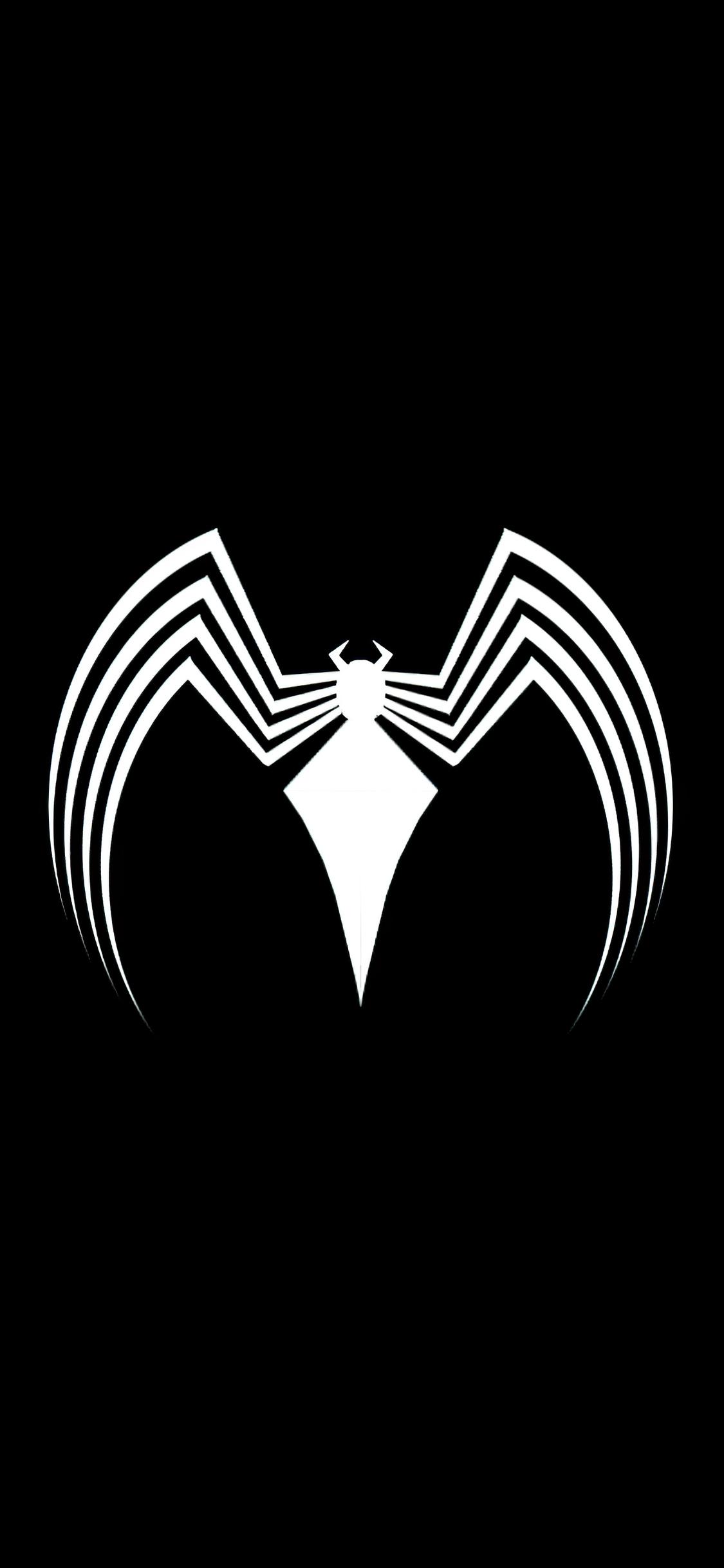 1125x2436 Venom Logo Dark 4k Iphone XS,Iphone 10,Iphone X ...