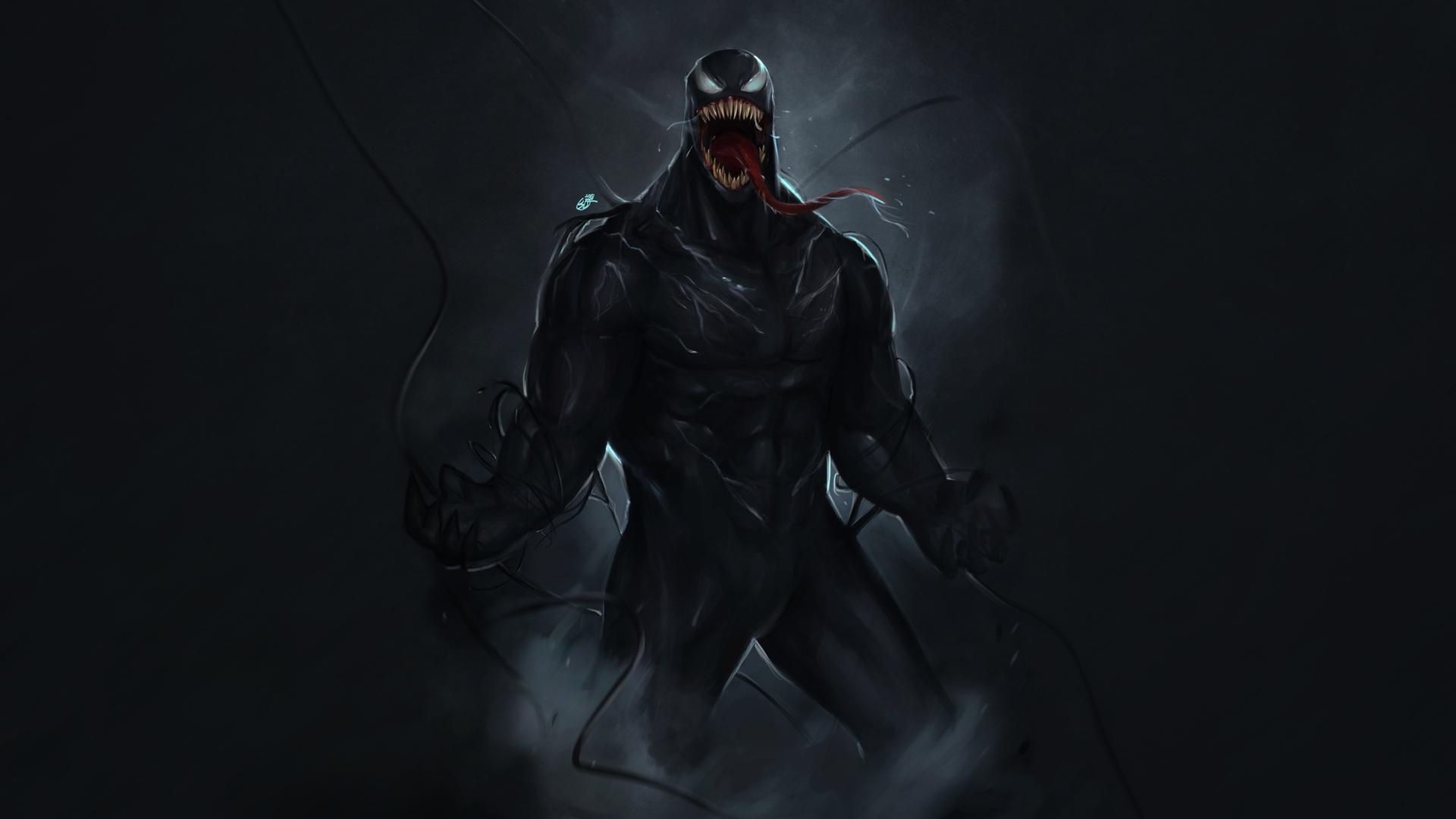 1920x1080 Venom Marvel Comic Superhero 4k Laptop Full HD ...