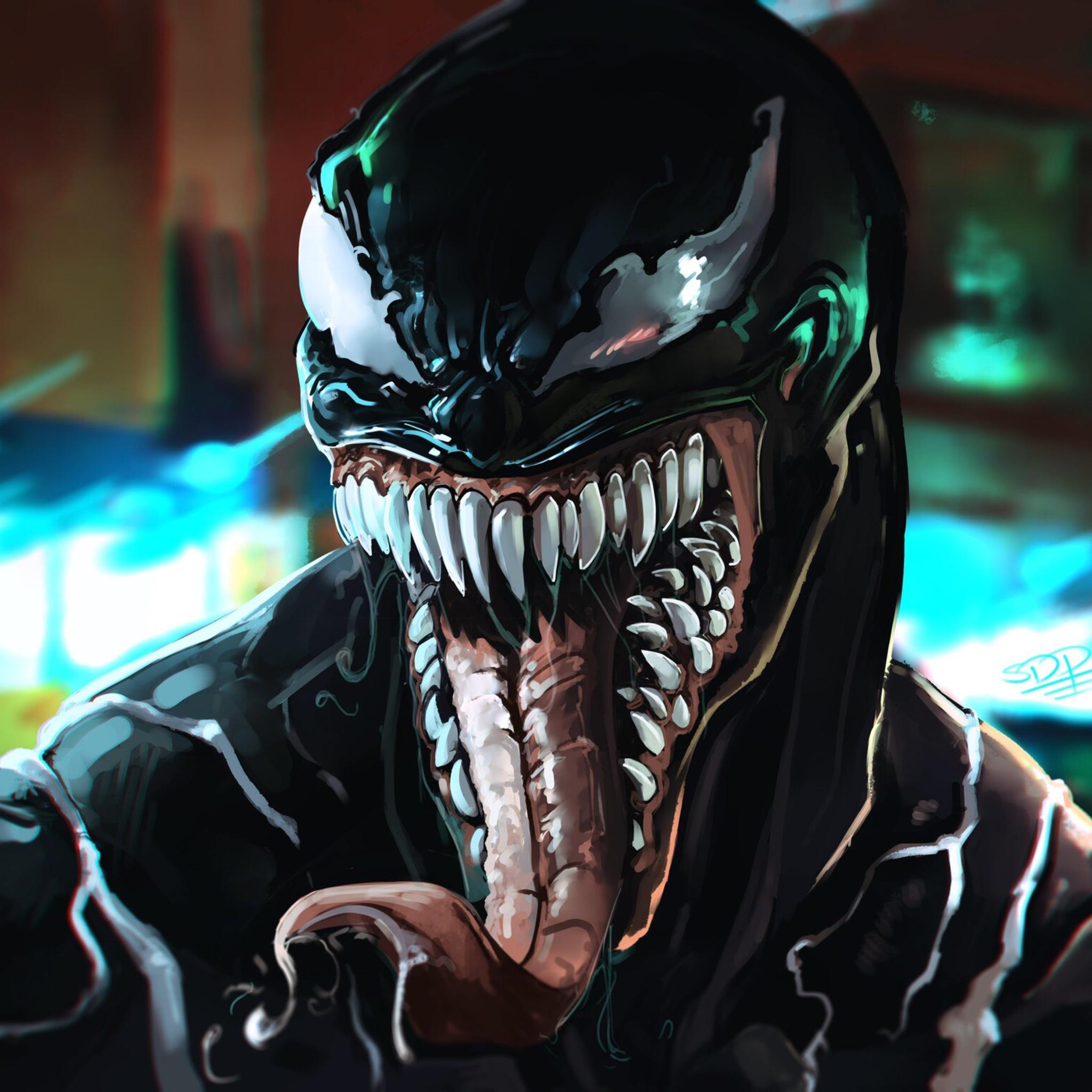 Venom Wallpapers: 2048x2048 Venom Movie Art Ipad Air HD 4k Wallpapers