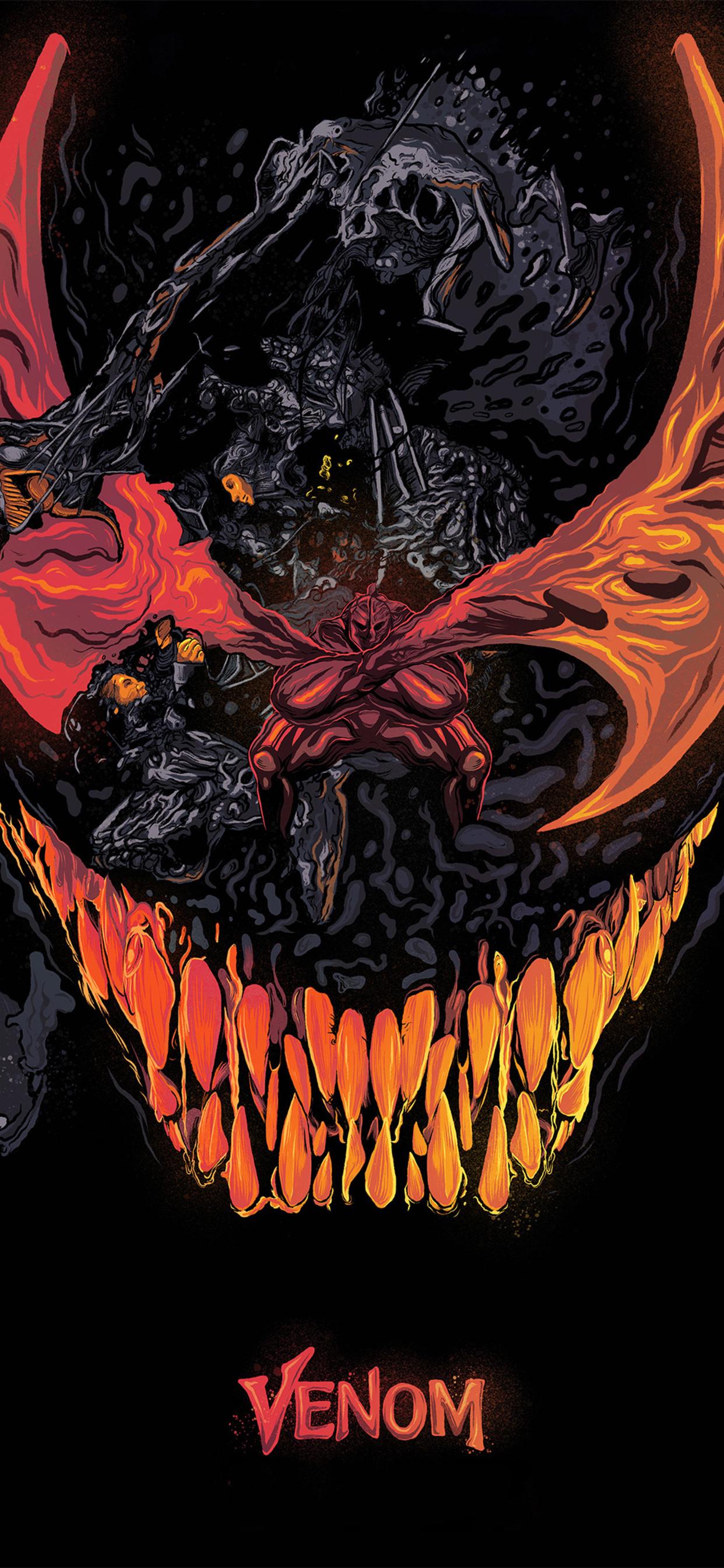 1242x2688 Venom Movie Artworks 4k Iphone Xs Max Hd 4k