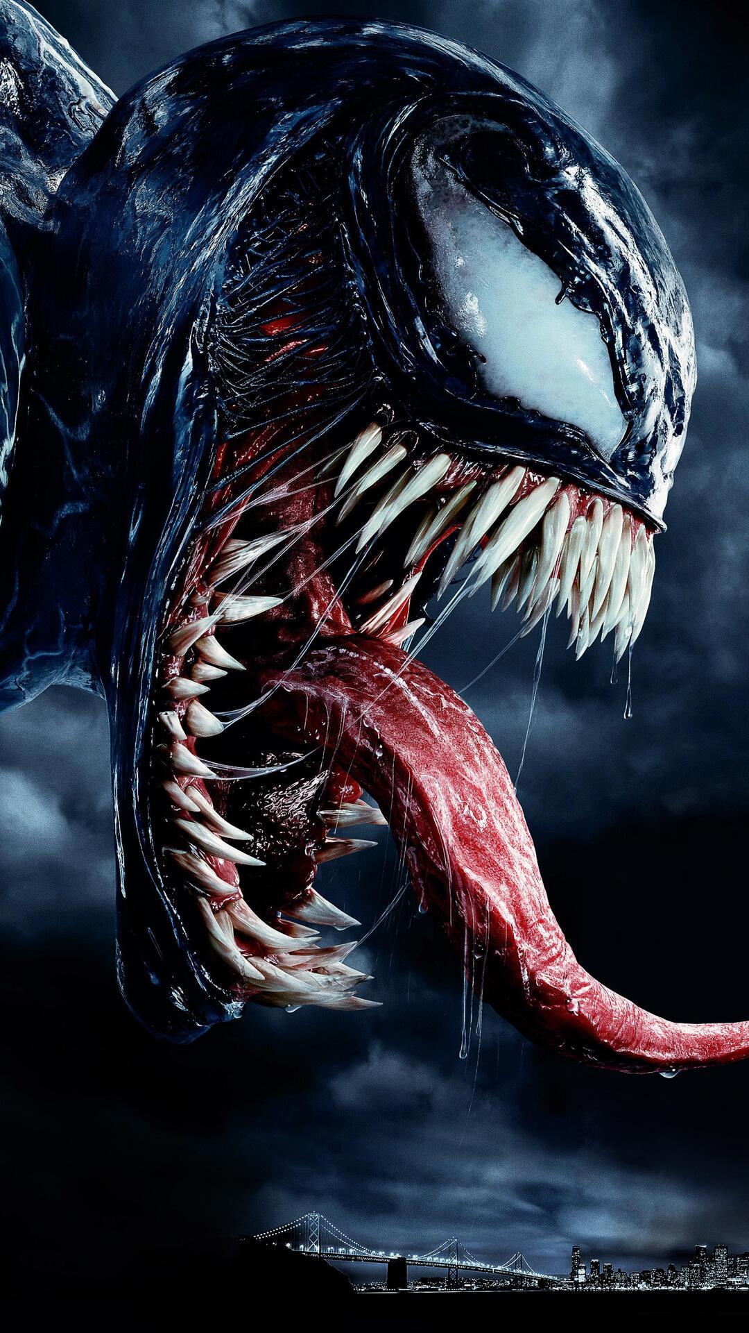 1080x1920 Venom Movie Japanese Poster Iphone 7 6s 6 Plus Pixel Xl