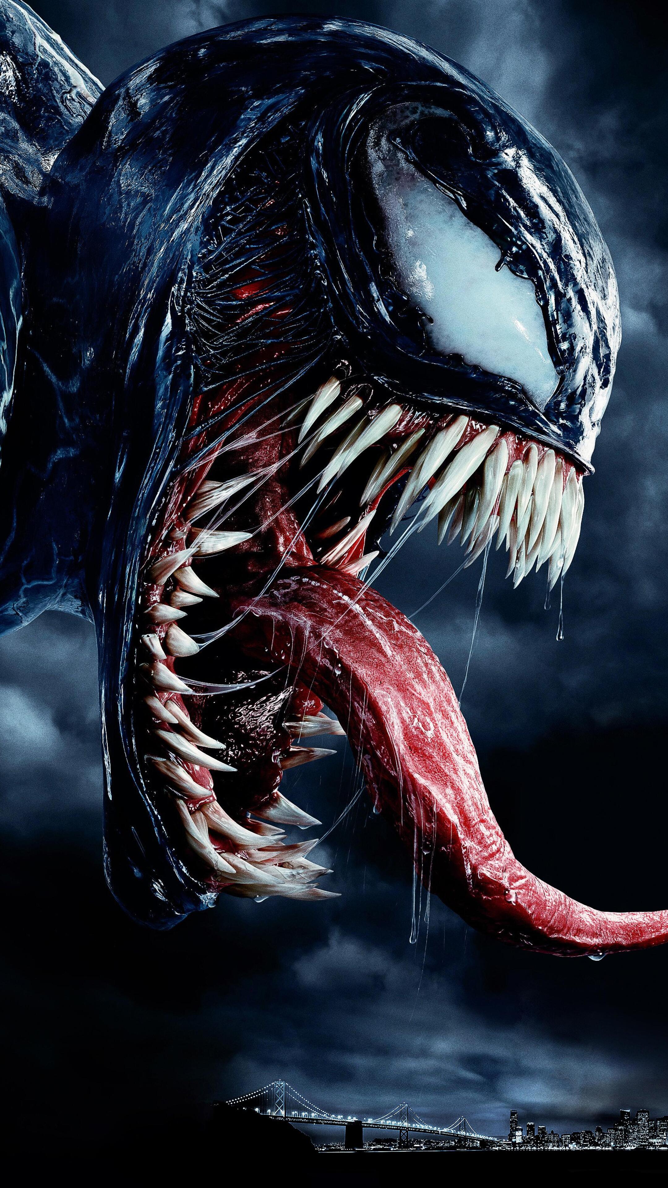 2160X3840 Venom Movie Japanese Poster Sony Xperia X,Xz,Z5 -7943