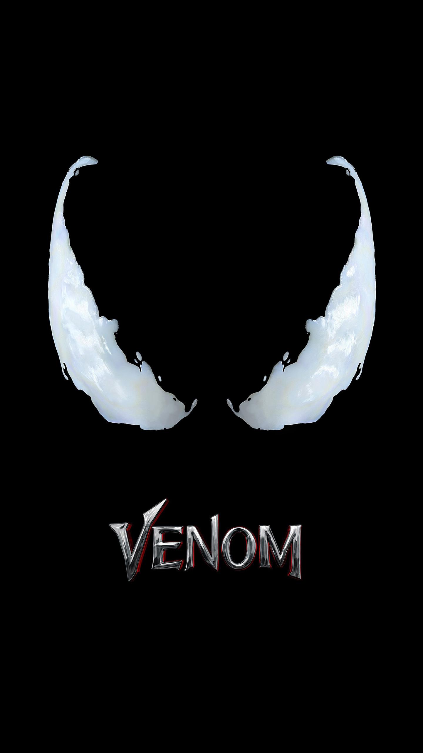 1440x2560 Venom Movie Logo 4k Samsung Galaxy S6s7 Google