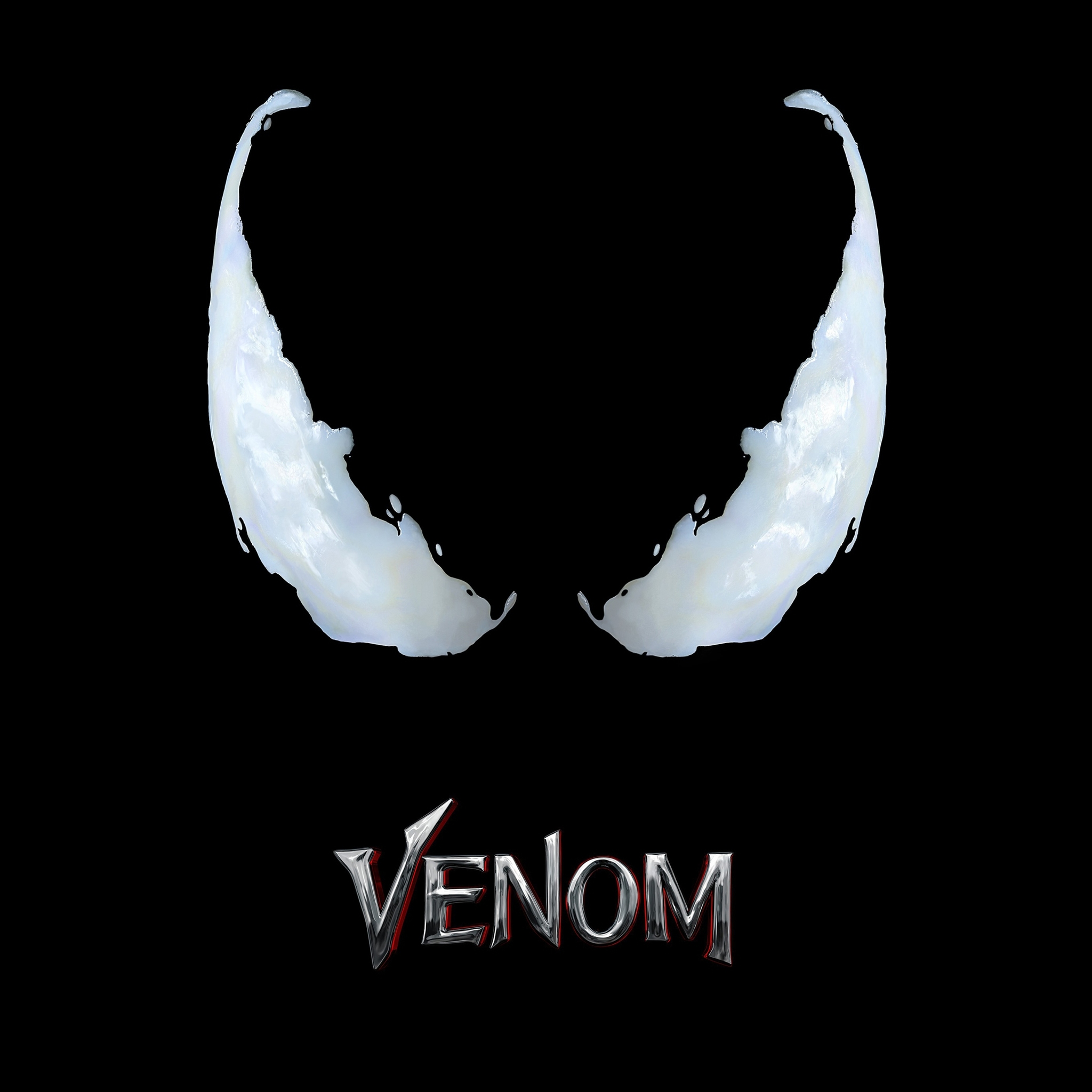 2048x2048 Venom Movie Logo 4k Ipad Air HD 4k Wallpapers, Images, Backgrounds, Photos and Pictures