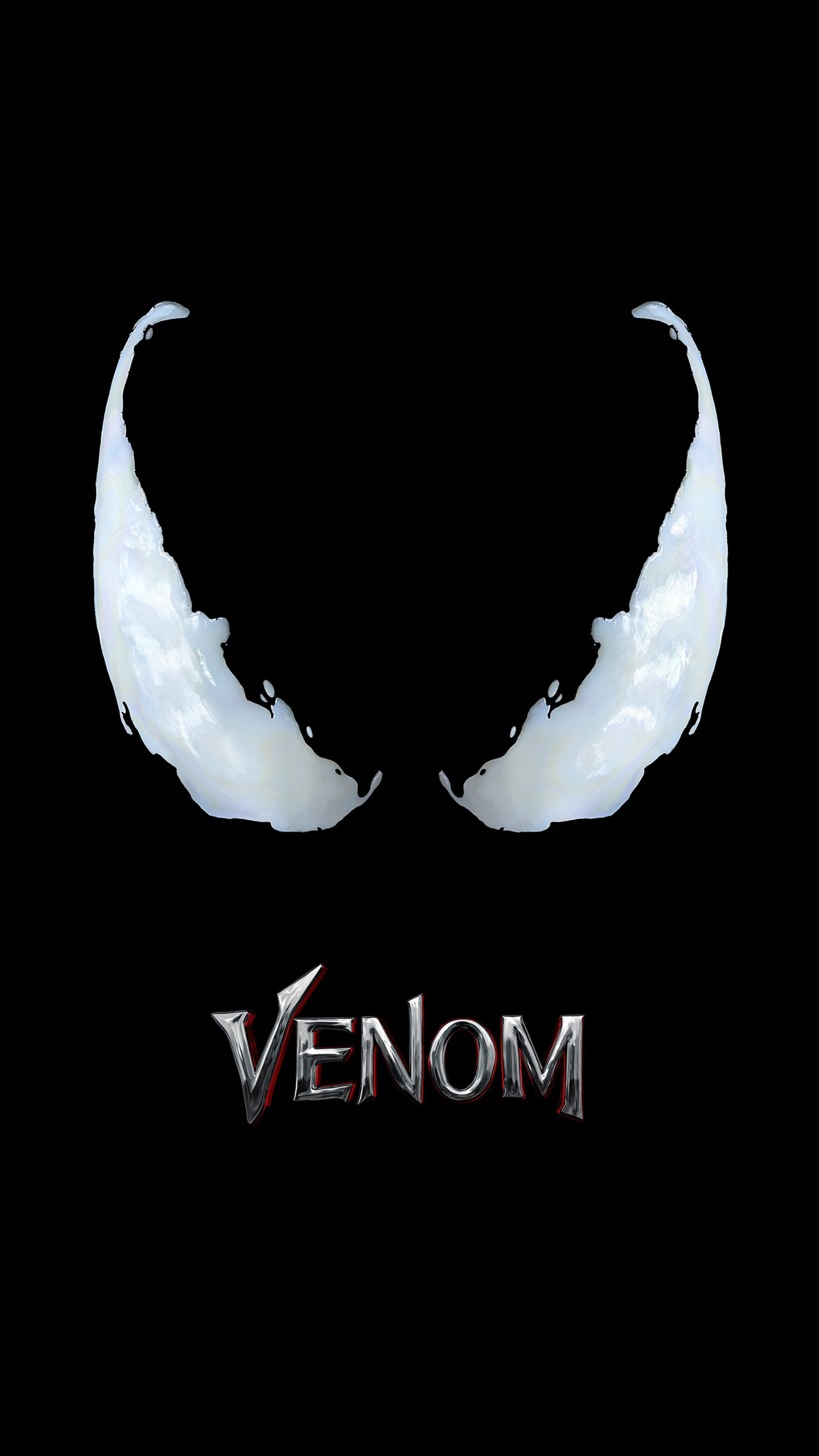 2160x3840 Venom Movie Logo 4k Sony Xperia X,XZ,Z5 Premium HD