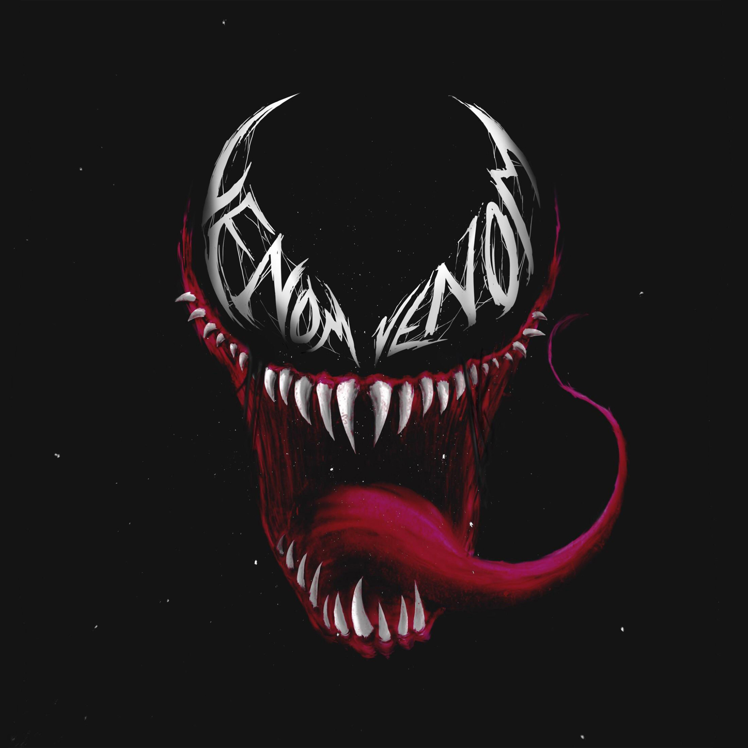 2932x2932 Venom Reddit Art Ipad Pro Retina Display HD 4k