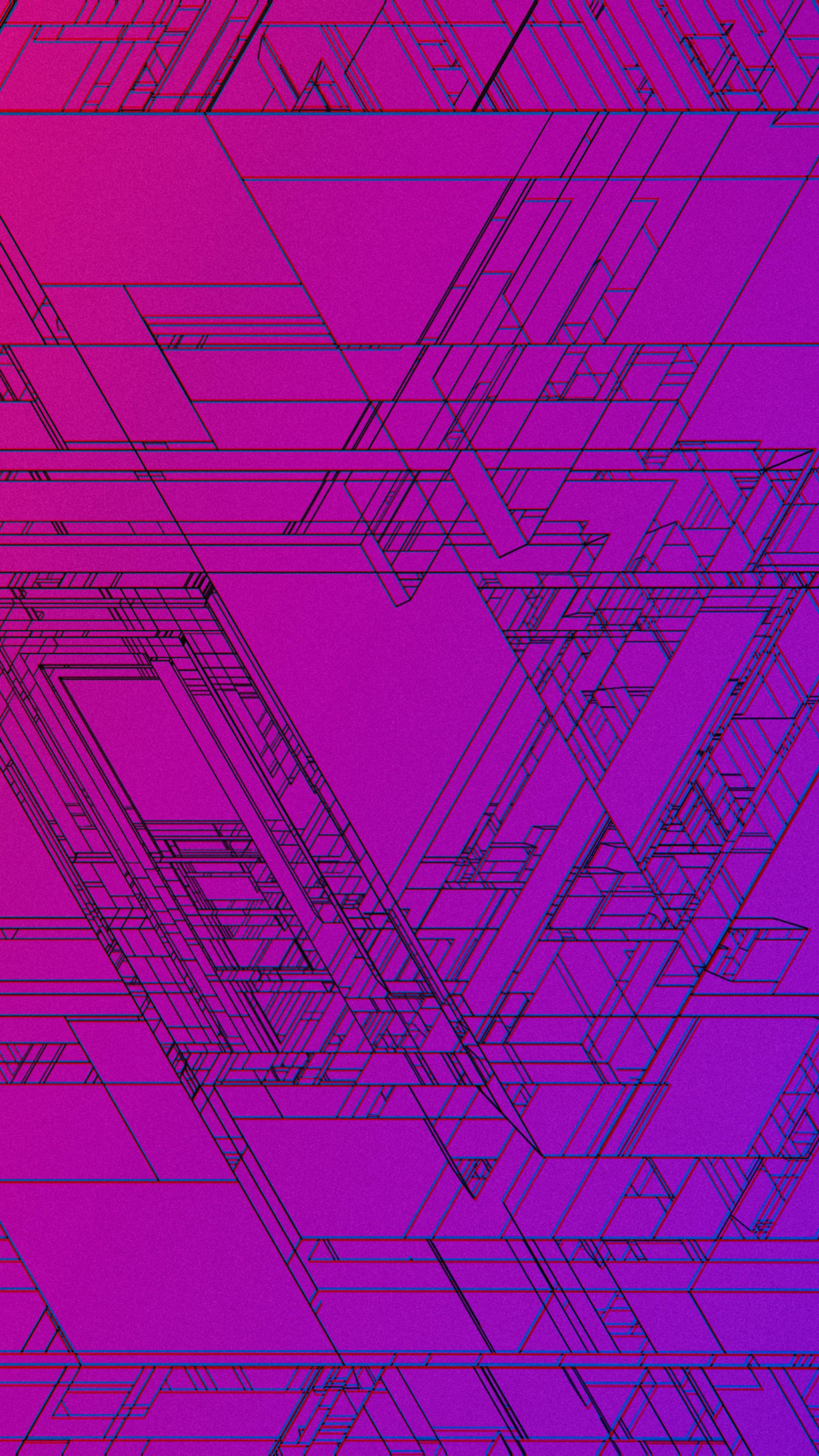 2160x3840 Verge Pathways Abstract 4k Sony Xperia X Xz Z5