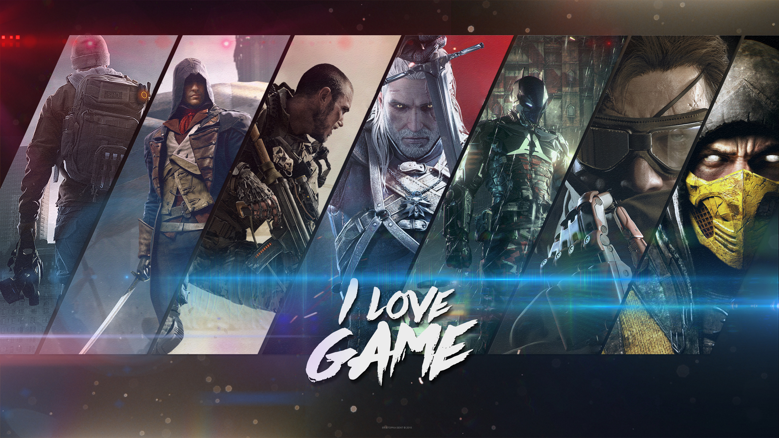 2560x1440 Video Games Collage 1440p Resolution Hd 4k