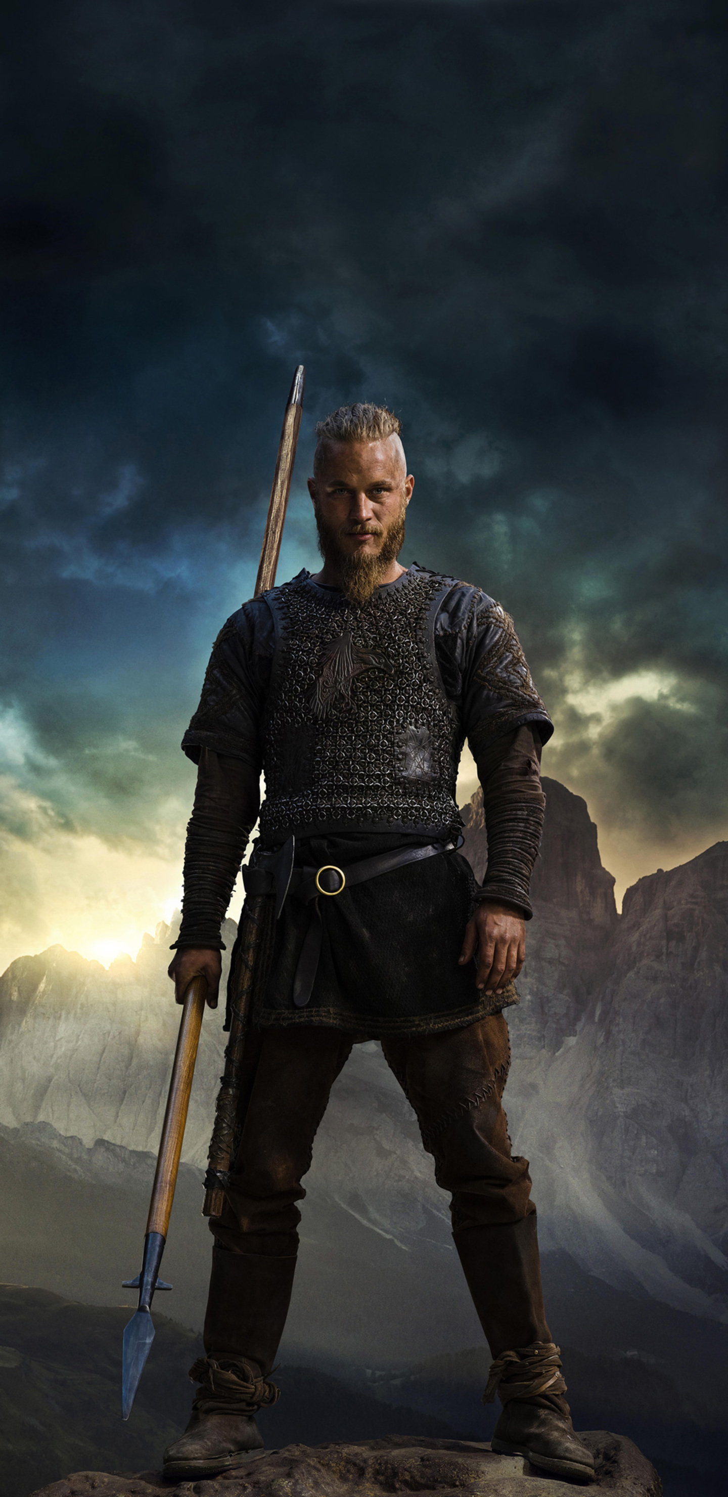 1440x2960 vikings ragnar 4k samsung galaxy note 9 8 s9 s8 - Samsung s9 wallpaper 4k ...