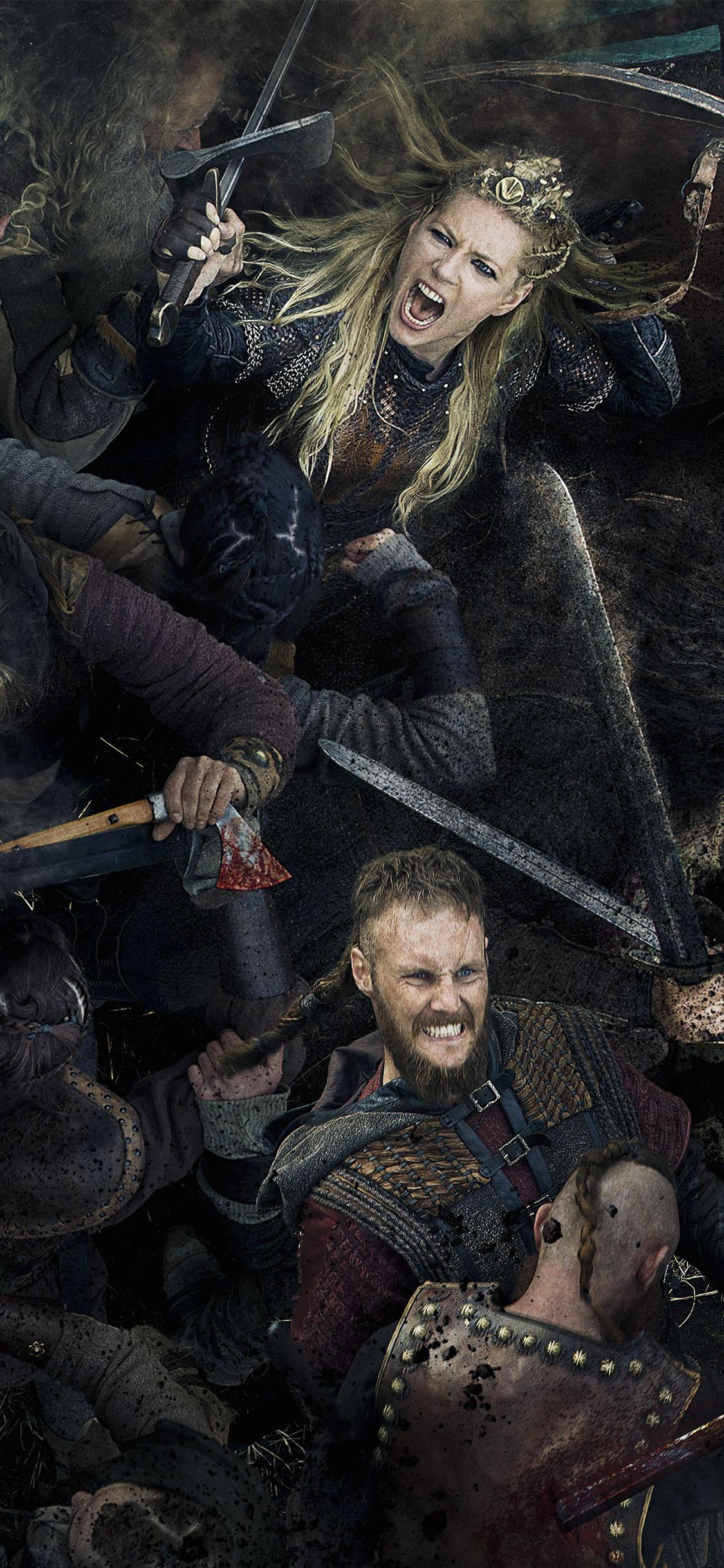 Vikings Wallpaper 4k Iphone