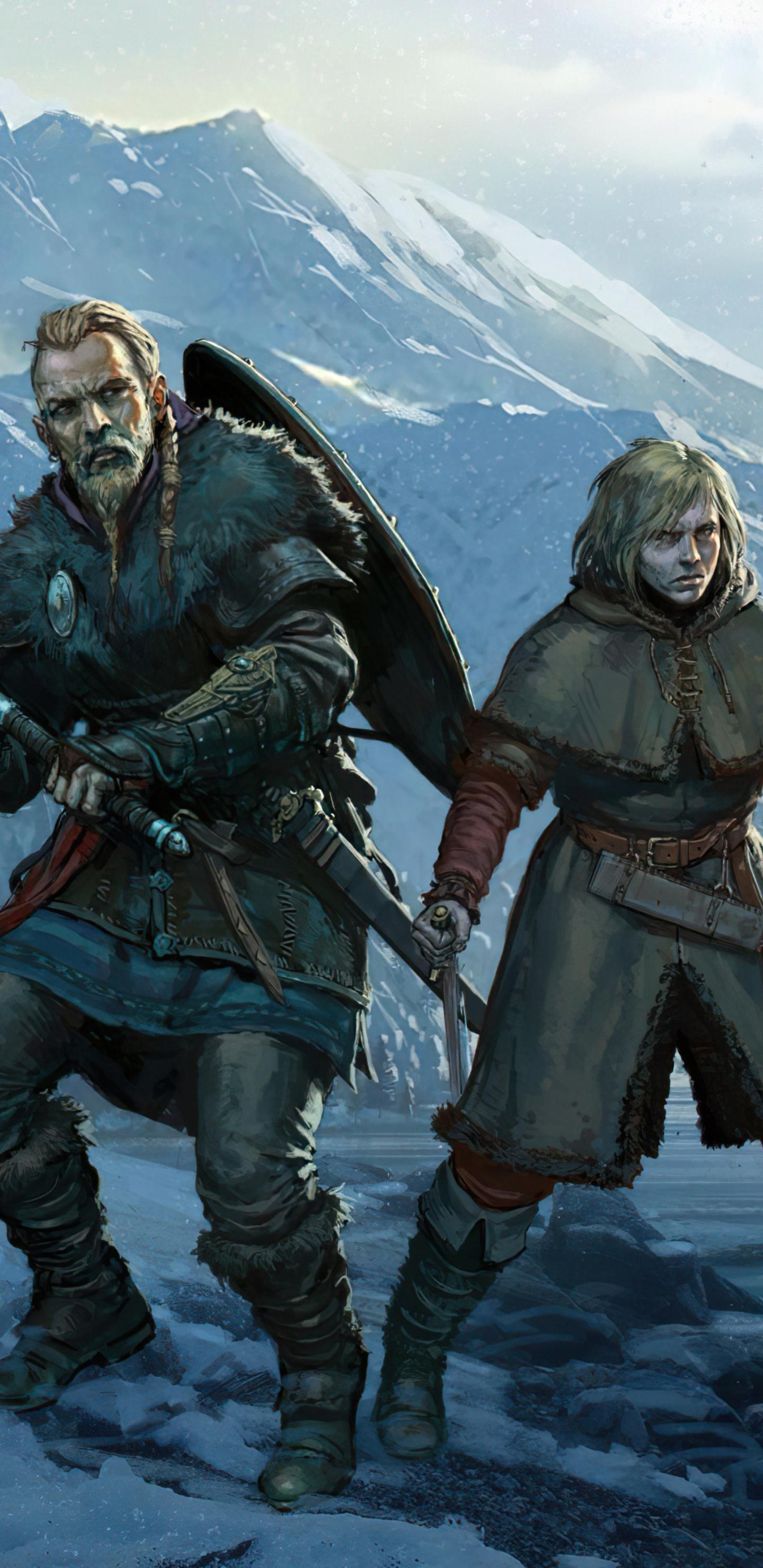 1440x2960 Vinland Saga Assassins Creed Valhalla 4k Samsung ...