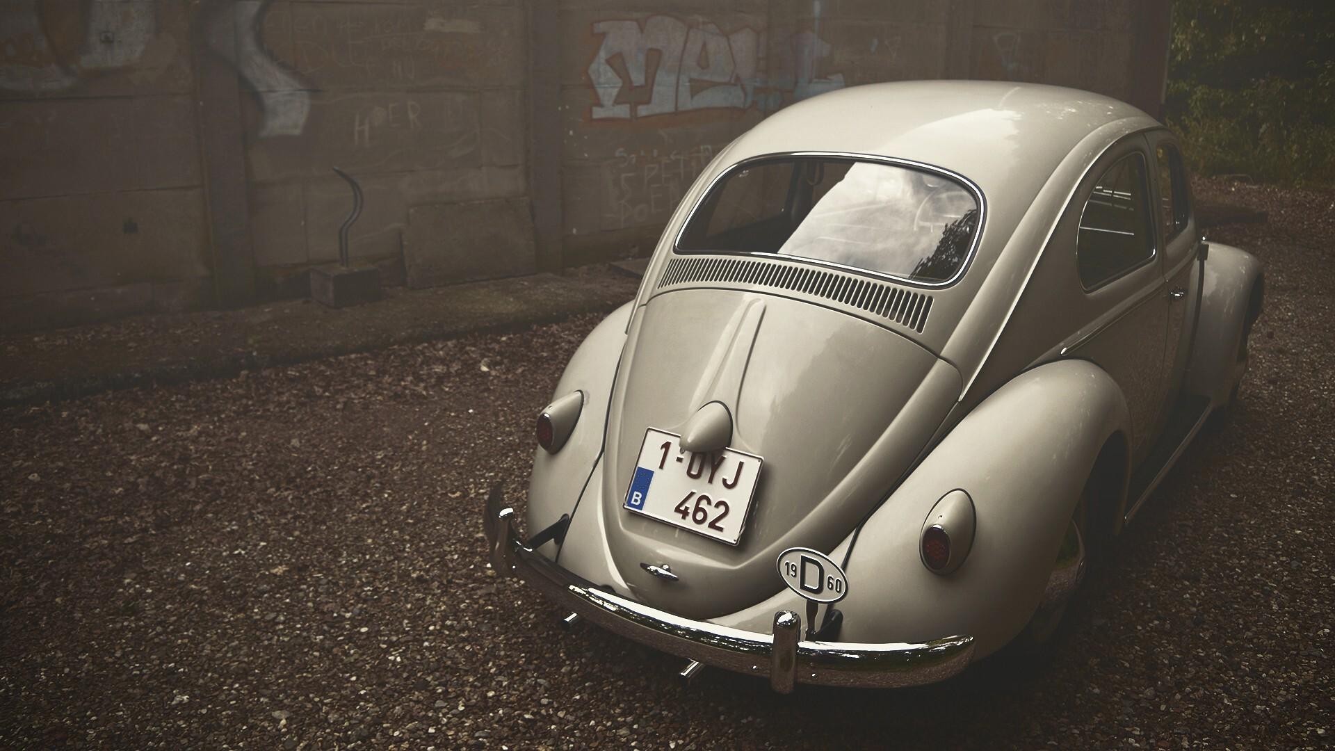 1920x1080 Volkswagen Beetle Vintage Laptop Full HD 1080P ...