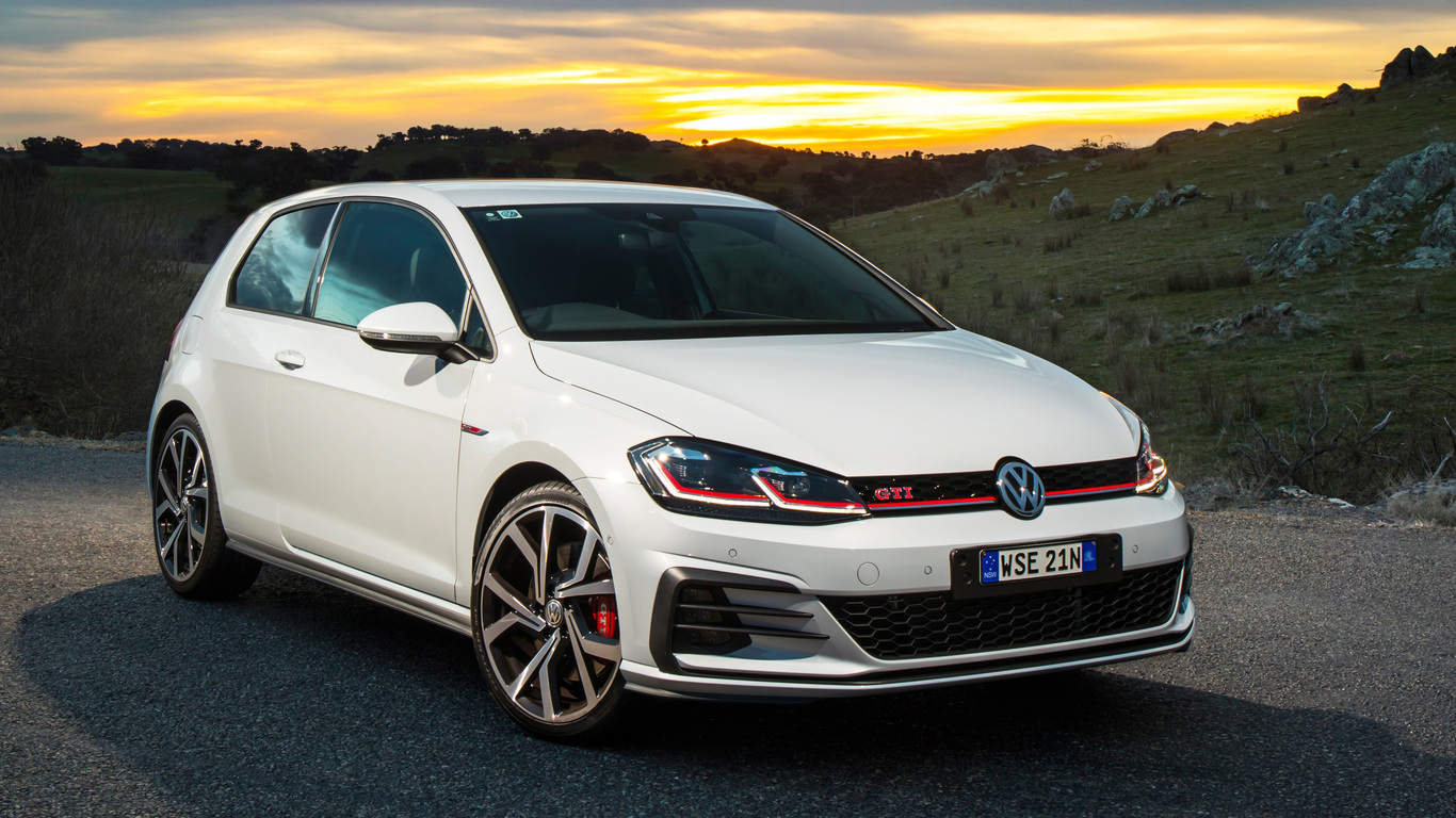 1366x768 Volkswagen Golf Gti Performance Edition 2017