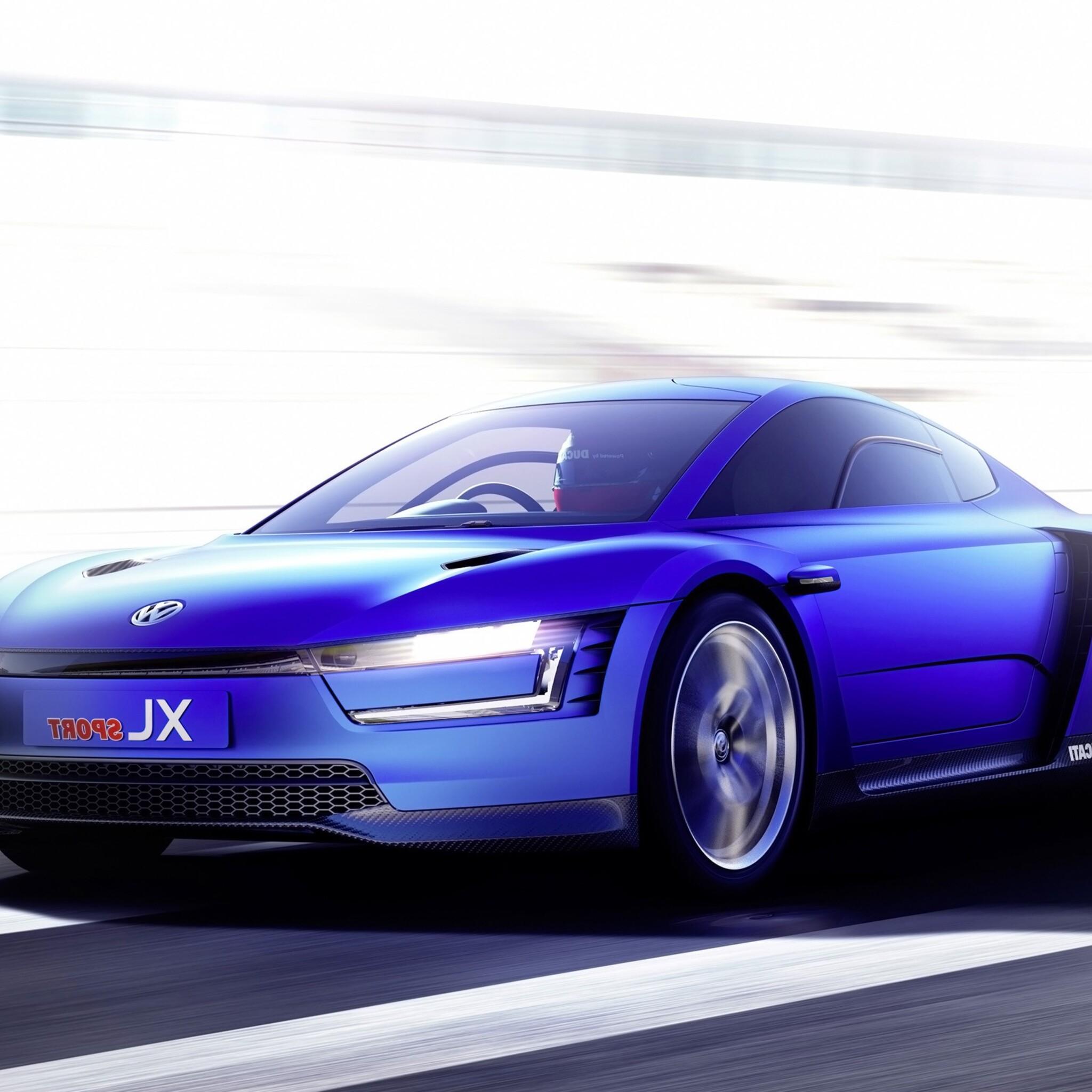 2048x2048 Volkswagen Xl Sport Car Concept Ipad Air HD 4k