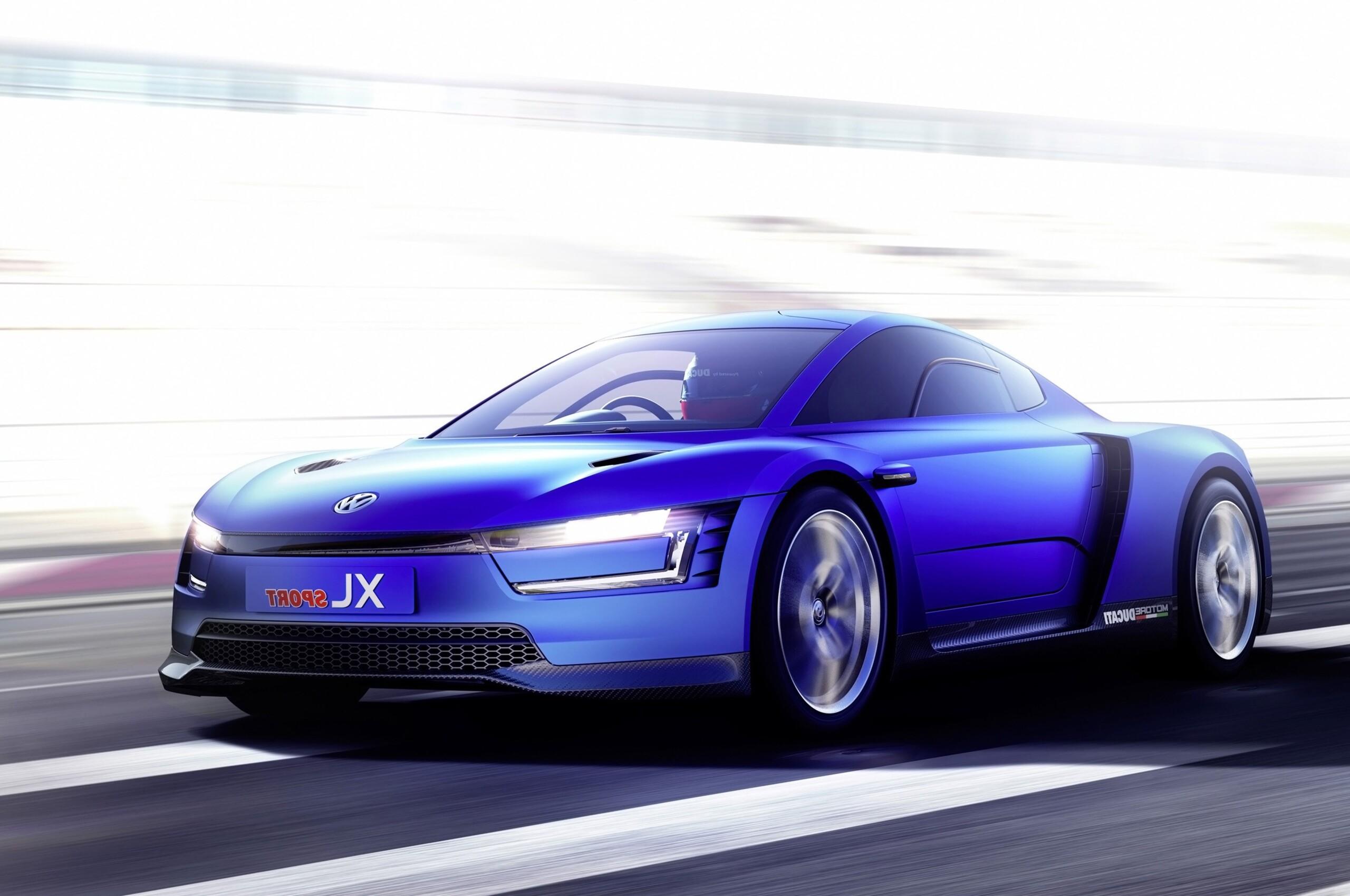 Volkswagen Xl Sport Car Concept