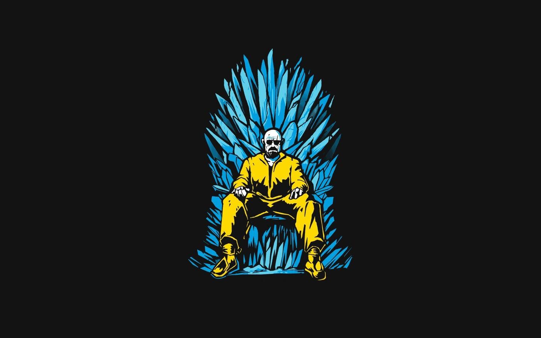 1440x900 Walter White Game Of Thrones Minimalism 1440x900 Resolution