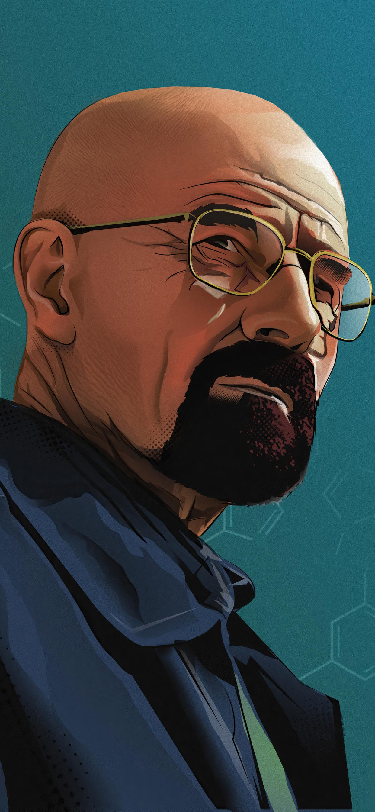 1242x2688 Walter White In Breaking Bad 4k Artwork Iphone ...