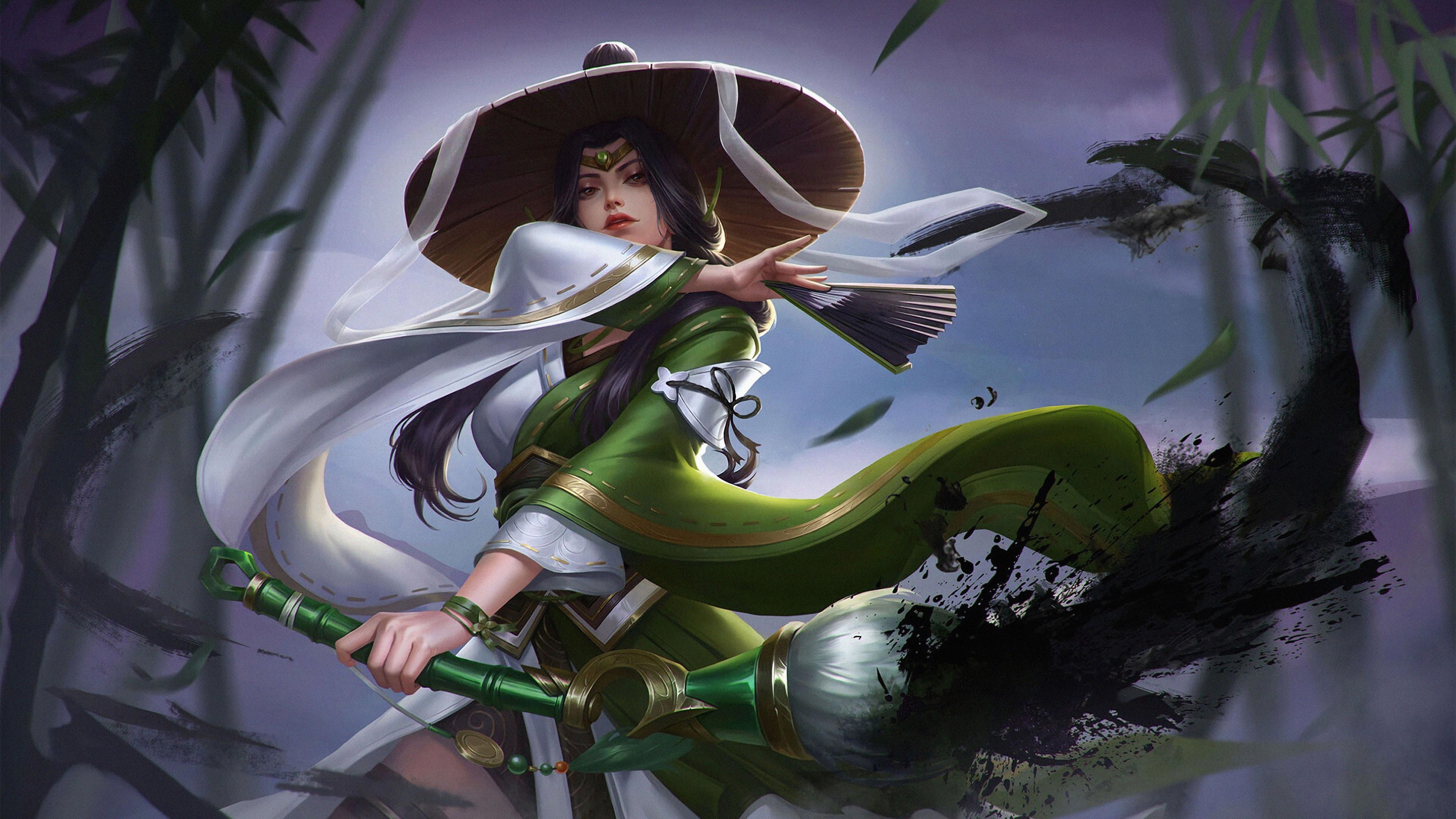 3840x2160 Warrior Anime Girl 4k 4k HD 4k Wallpapers ...