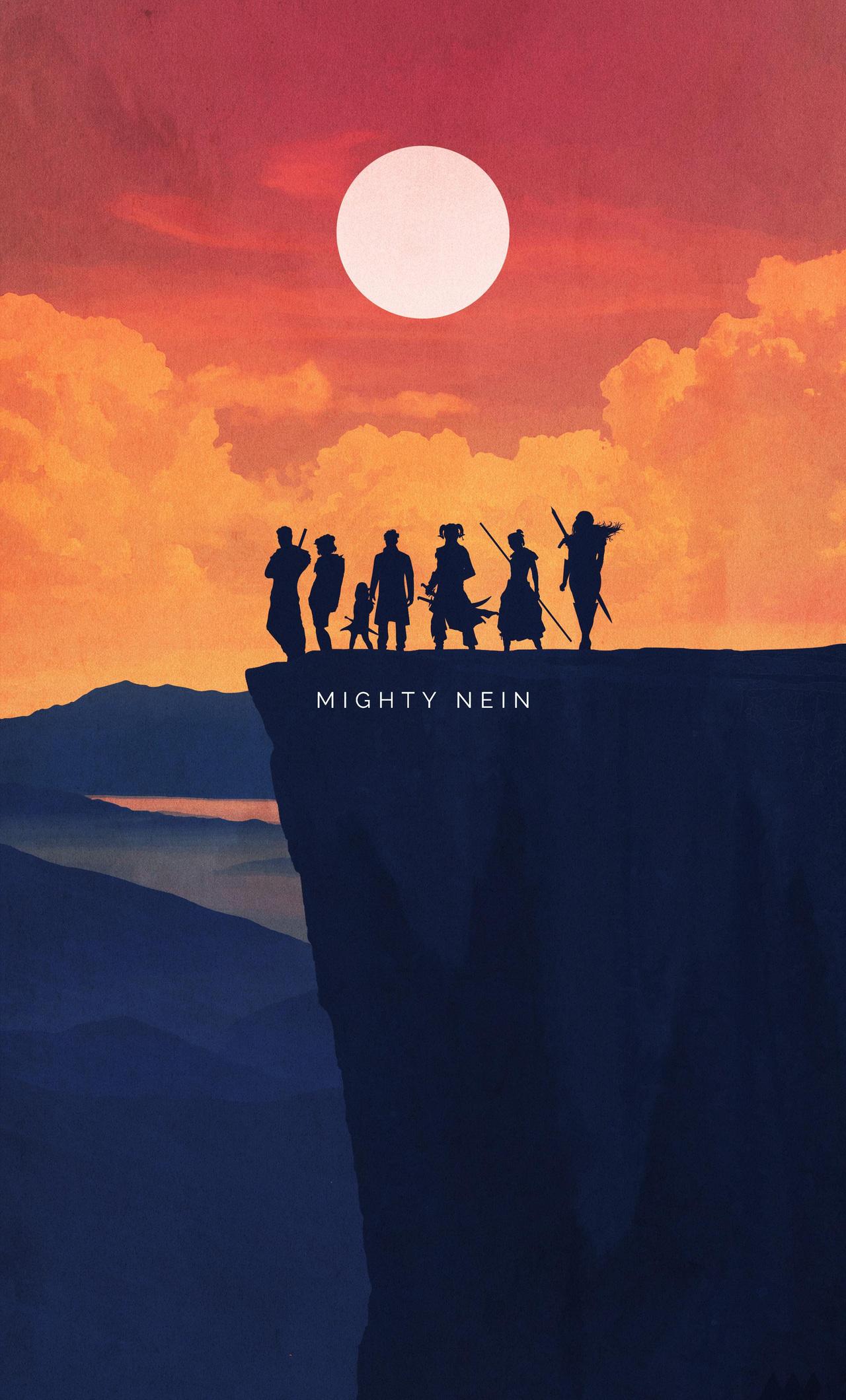 Warriors Mighty Nein Minimalist Art (iPhone 6+)