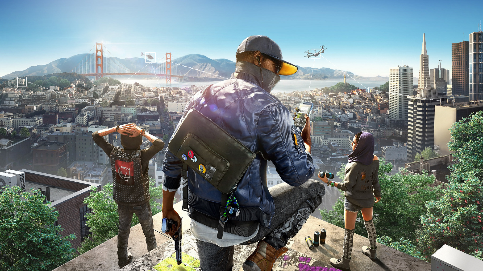 2048x1152 Watch Dogs 2 Hd 2048x1152 Resolution Hd 4k Wallpapers