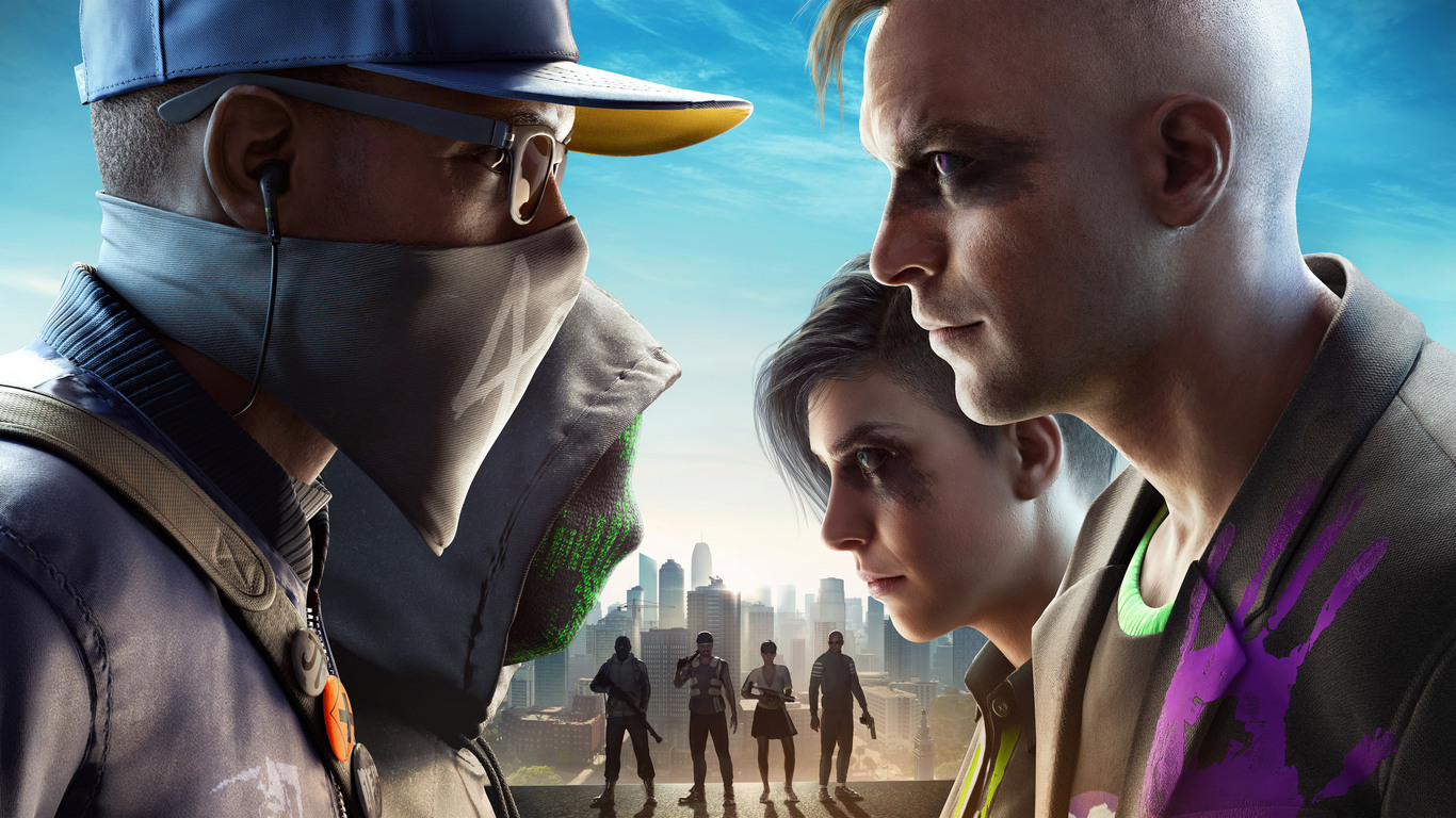 Watch Dogs 2 Wallpaper Download Free Beautiful: 1366x768 Watch Dogs 2 No Compromise 1366x768 Resolution HD