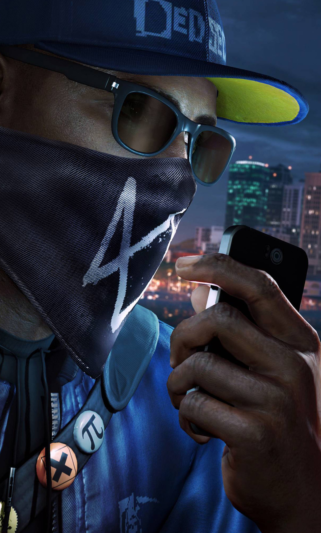 1280x2120 Watch Dogs 2 Ps4 Pro 4k Iphone 6 Hd 4k Wallpapers Images