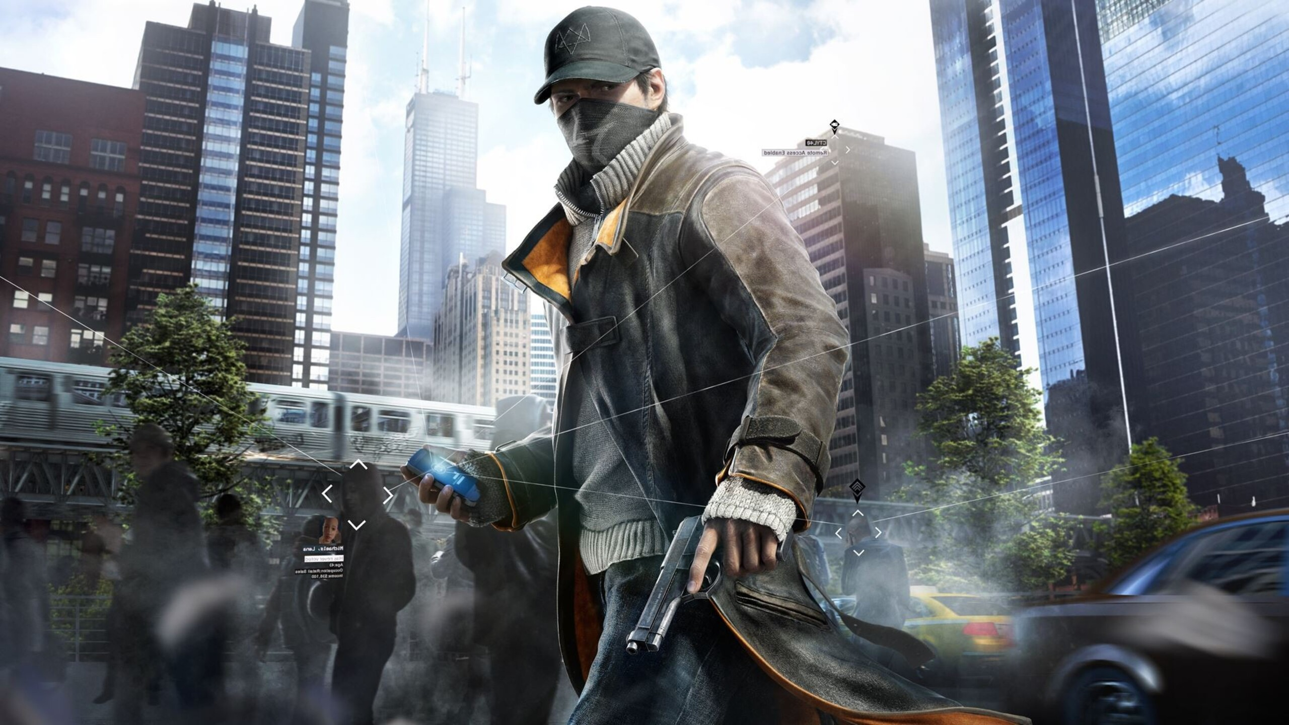 2560x1440 Watch Dogs Aiden Pearce 1440P Resolution HD 4k ...