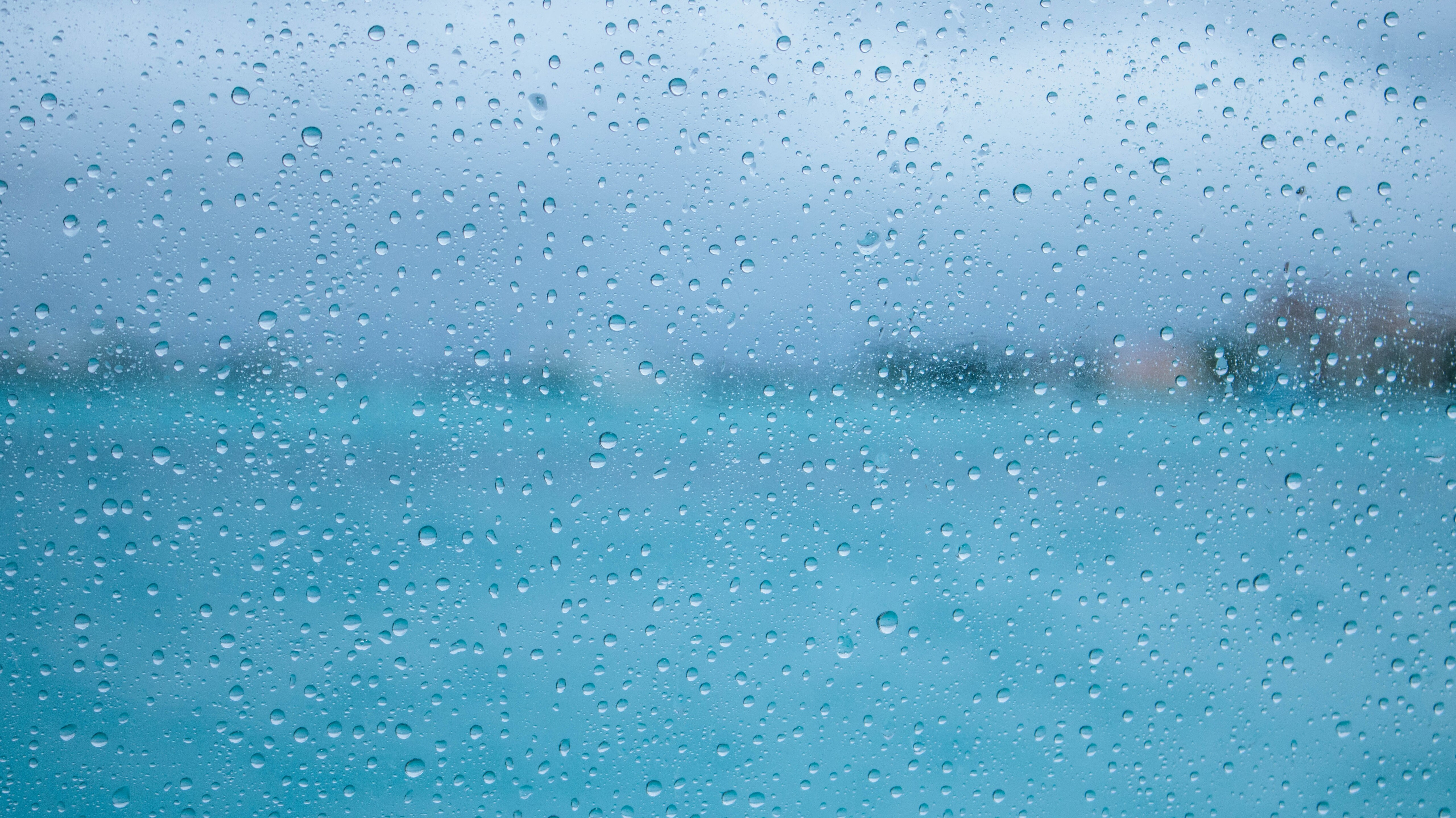 water droplets on glass 5k imagejpg