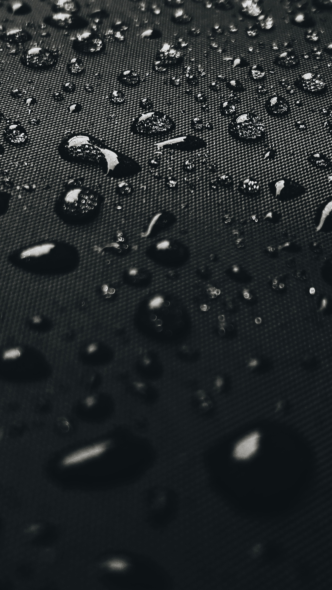 1080x1920 Water Drops On Black Surface 4k Iphone 7,6s,6 ...