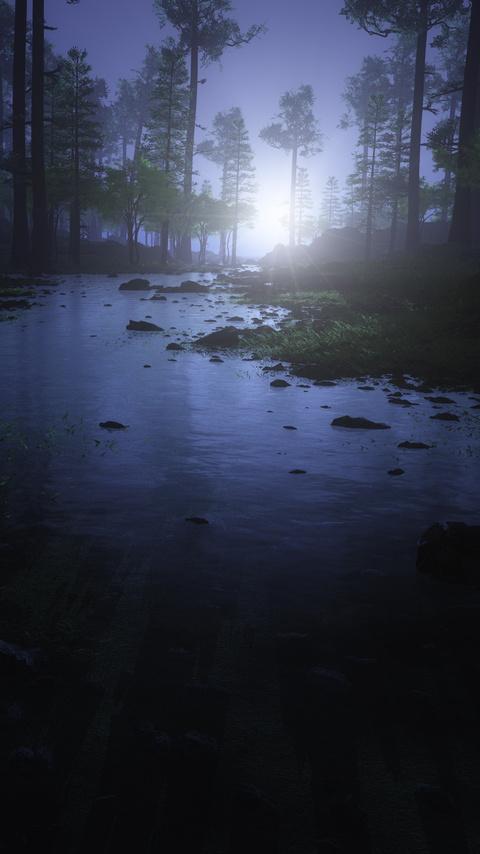 water-stream-night-forest-4k-e3.jpg