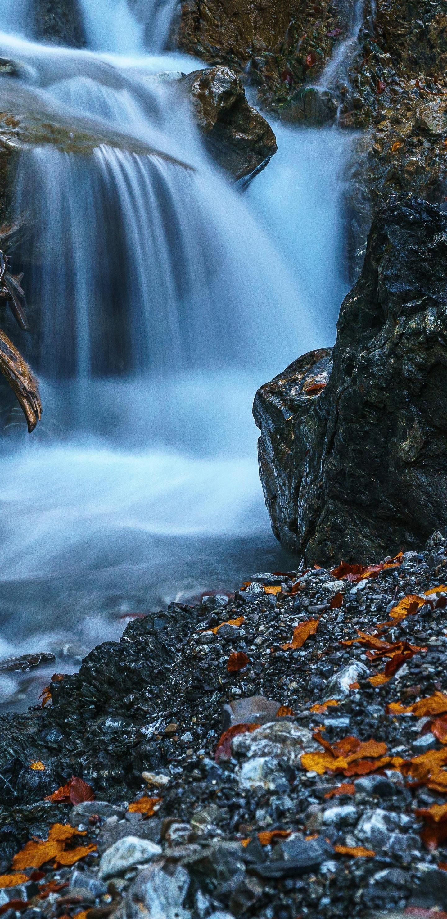 1440x2960 Waterfall Forest Ultra Hd 5k Samsung Galaxy Note 9 8 S9