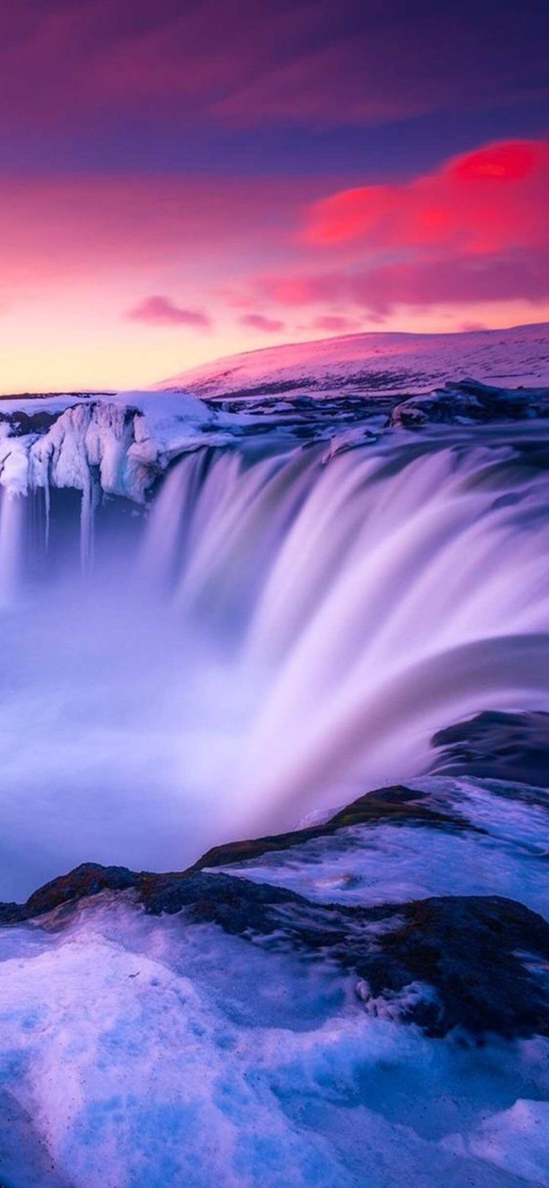 1125x2436 Waterfall Iceland Iphone Xs Iphone 10 Iphone X Hd 4k