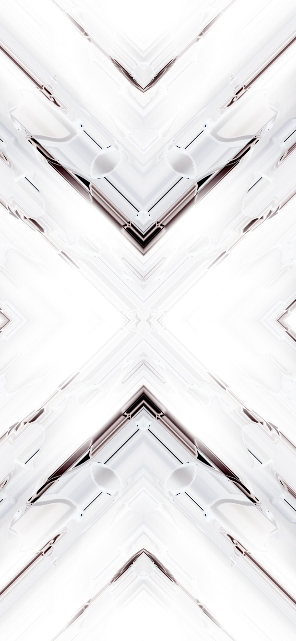 1125x2436 White Render Abstract Art 4k Iphone Xsiphone 10