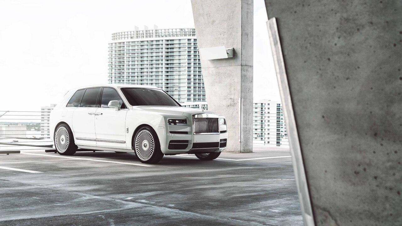 1280x720 White Rolls Royce Cullinan 8k 2020 720P HD 4k ...