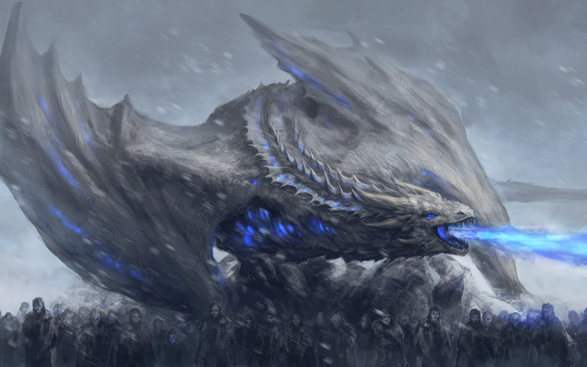 White Walkers Dragon Game Of Thrones Oi