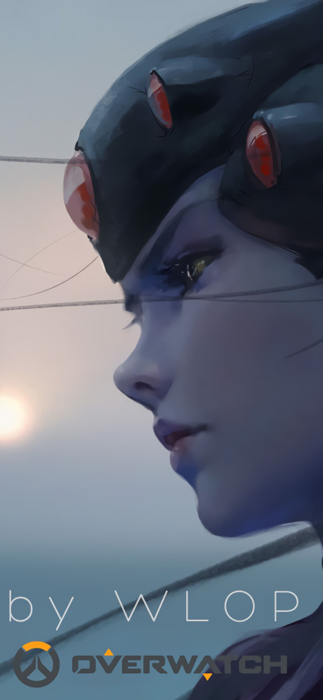 1125x2436 Widowmaker Overwatch By Wlop Iphone Xs Iphone 10 Iphone X