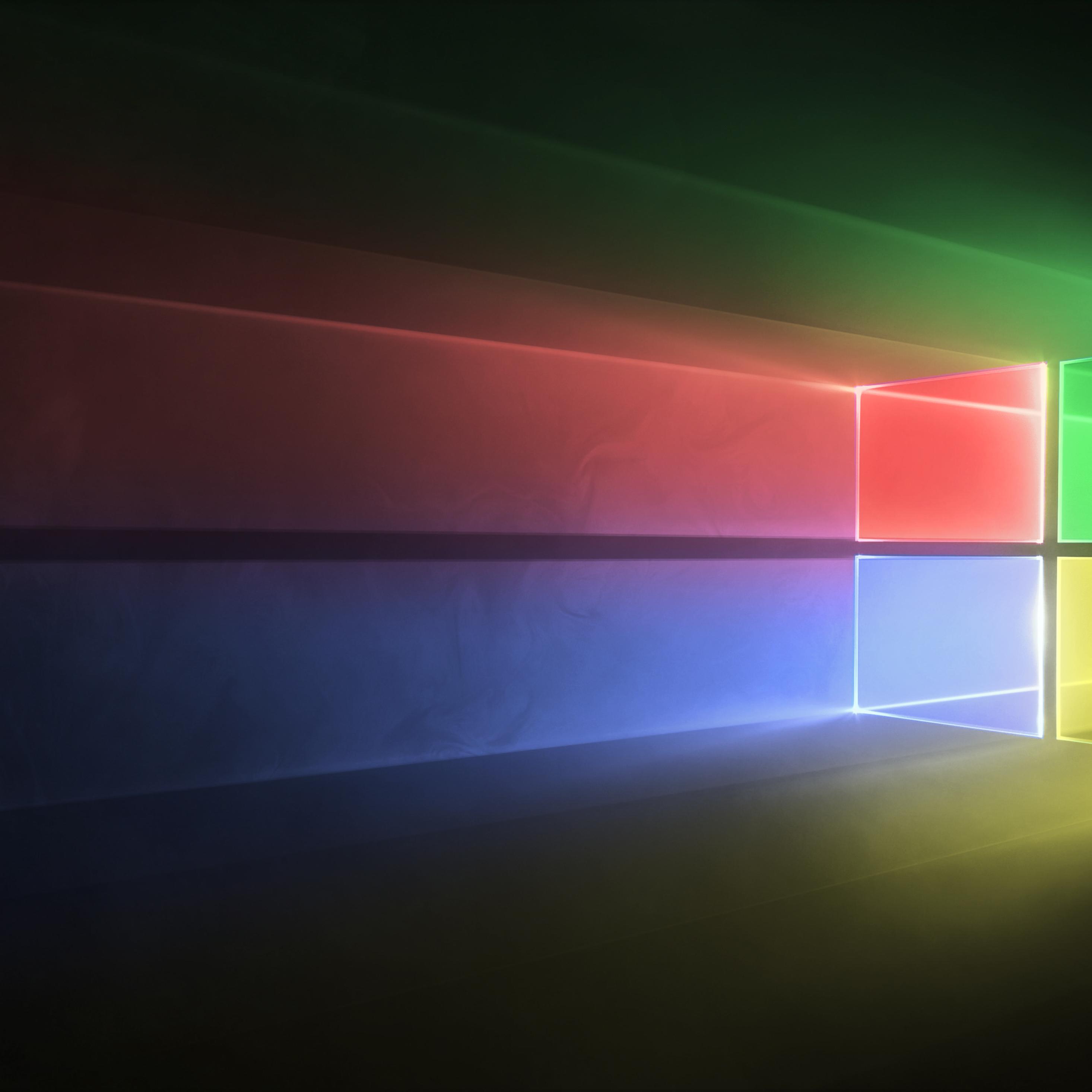 2932x2932 Windows 10 Abstract 4k Ipad Pro Retina Display