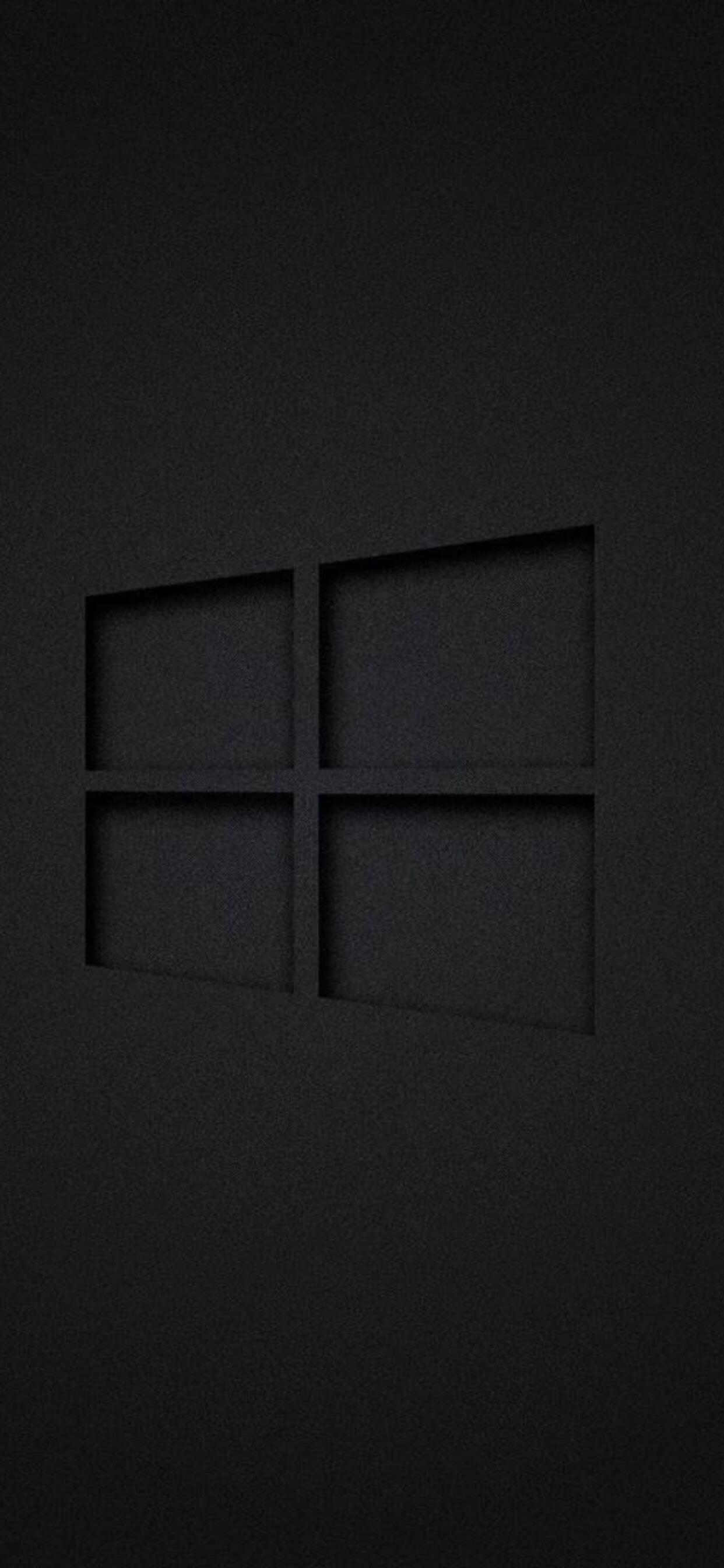 1242x2688 Windows 10 Dark Iphone Xs Max Hd 4k Wallpapers