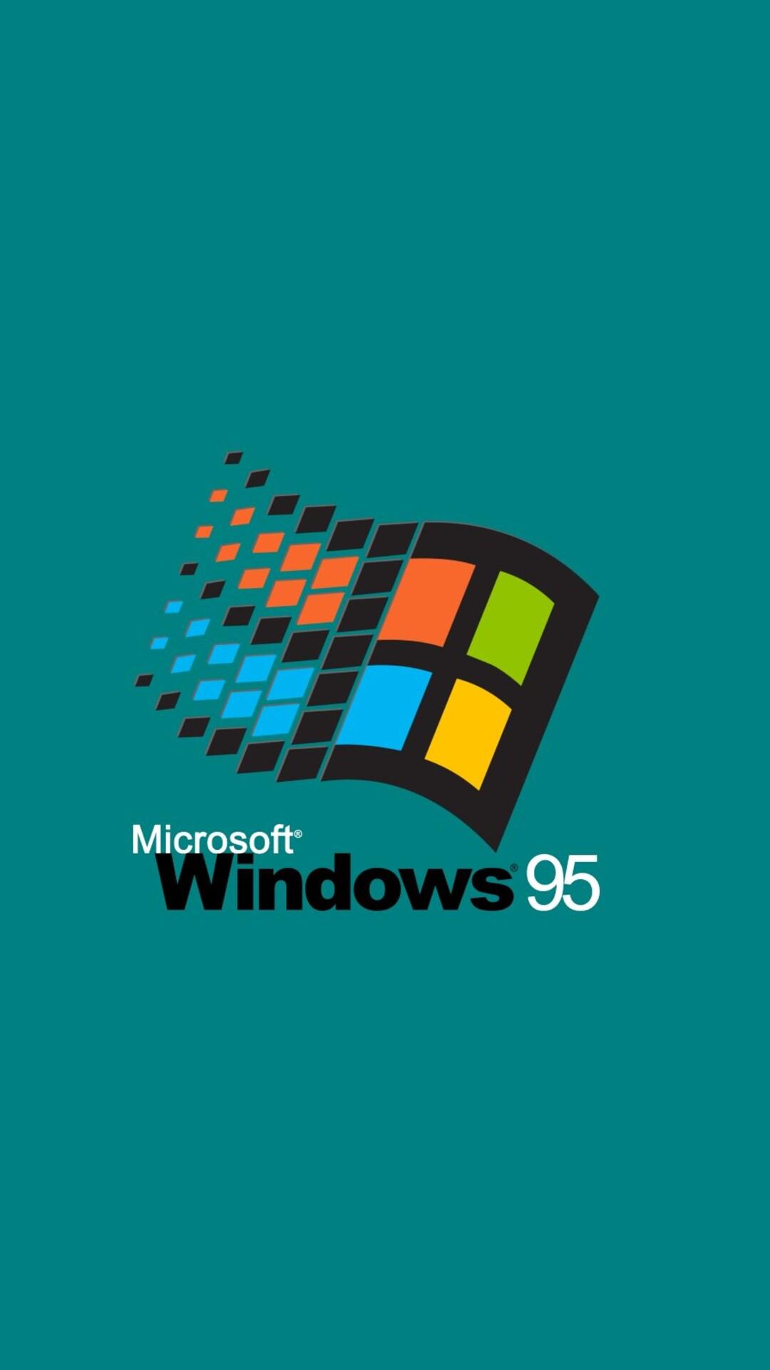 download windows 95 hd 4k wallpapers in 1080x1920 screen