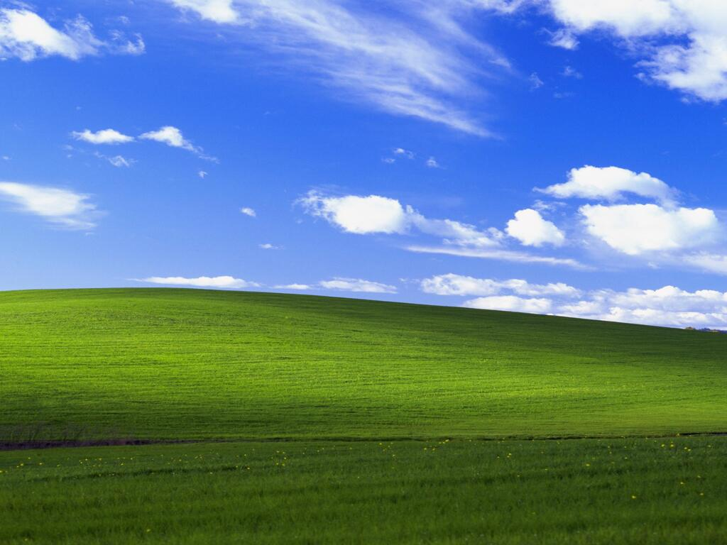 Windows Xp Bliss 4k Lu